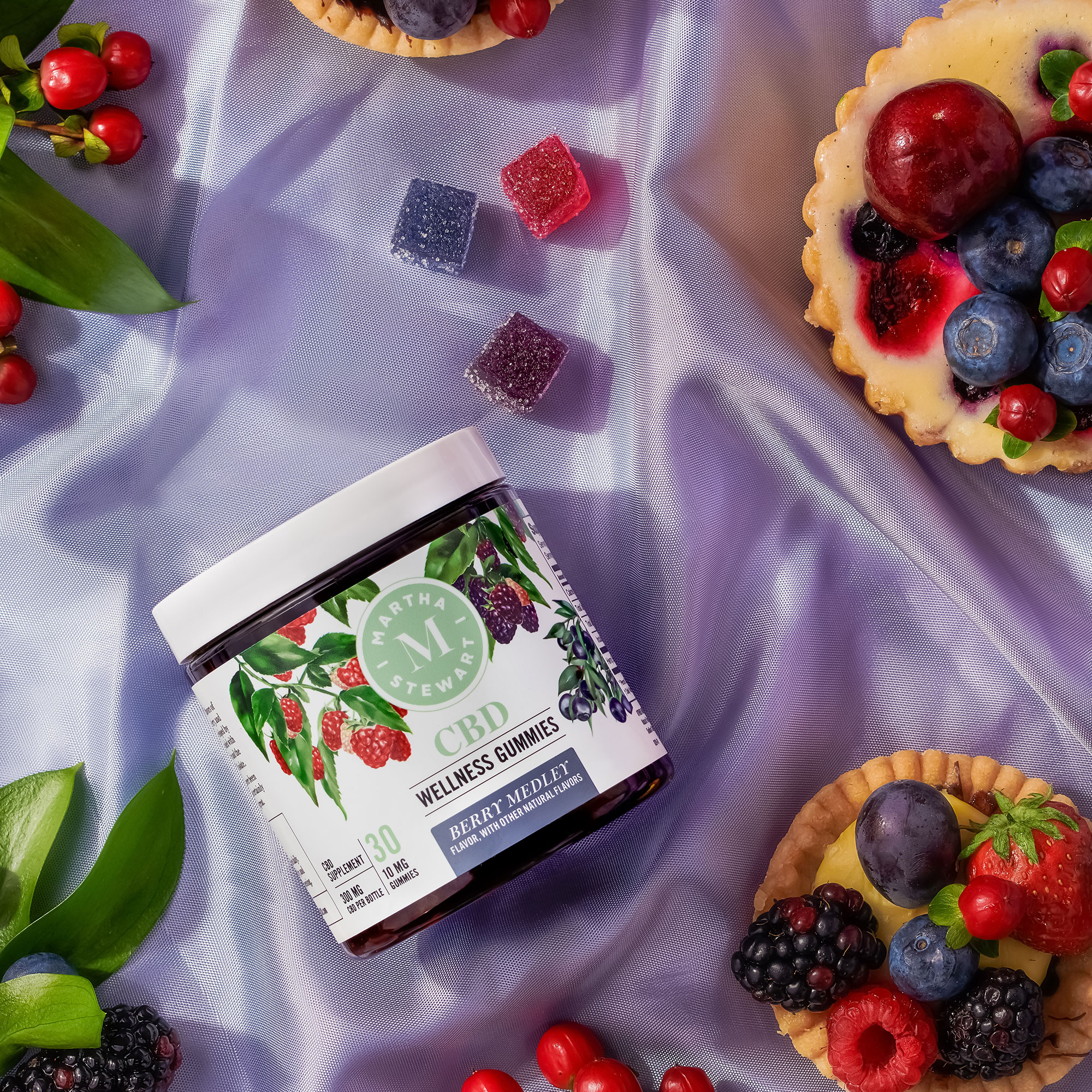 Martha Stewart CBD berry gummies