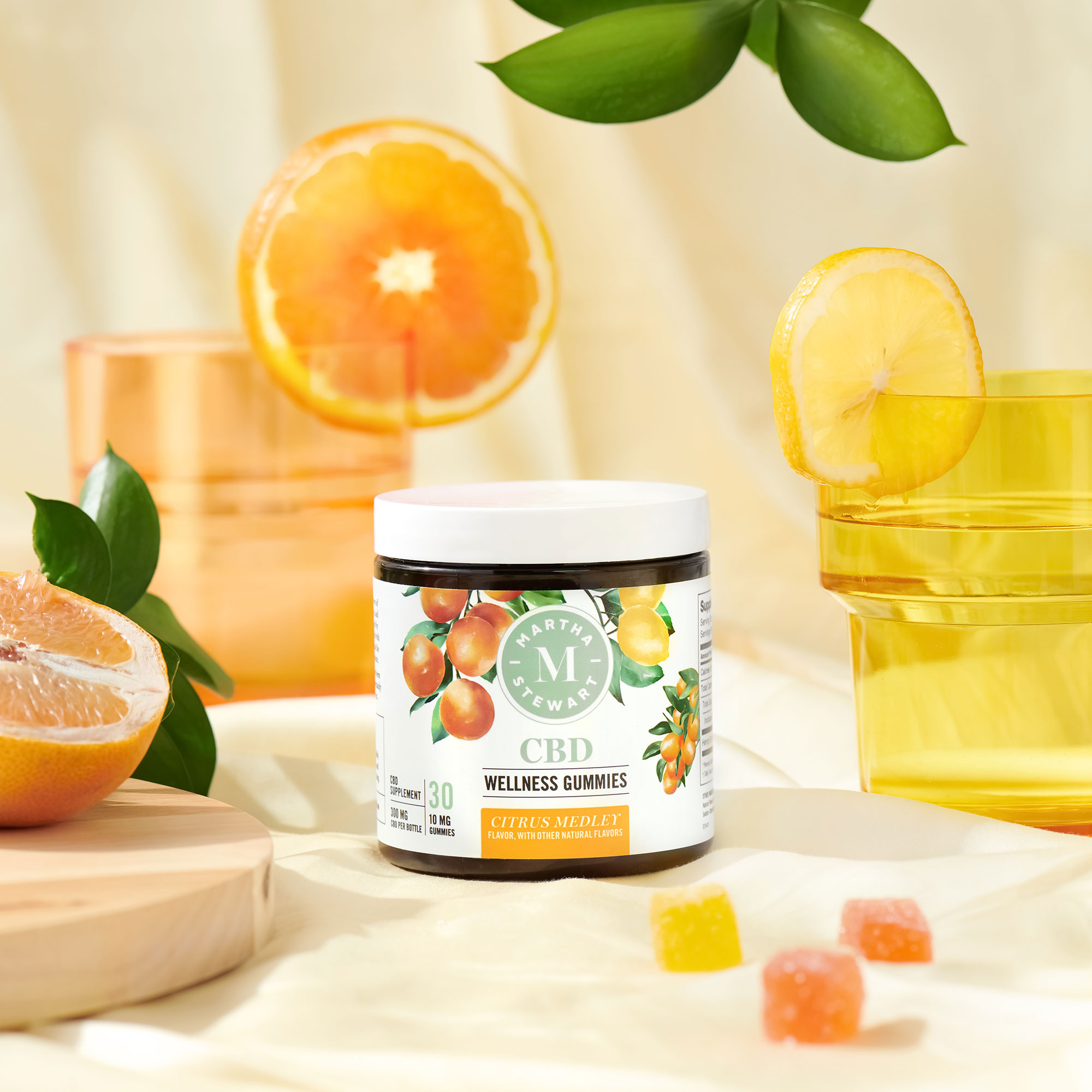Martha Stewart CBD citrus gummies