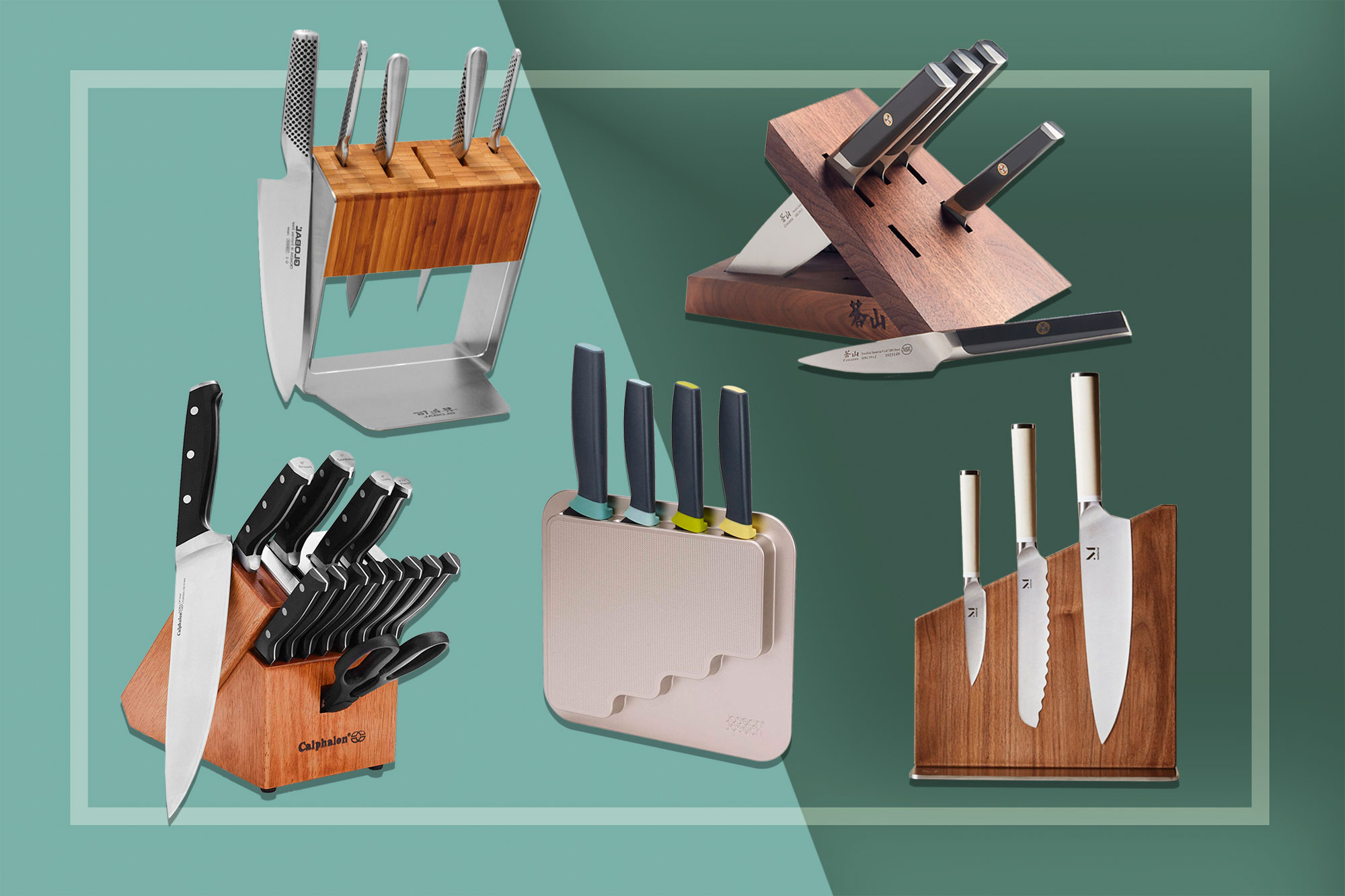 The 14 Best Knife Block Sets That'll Look Gorgeous on Your Countertop