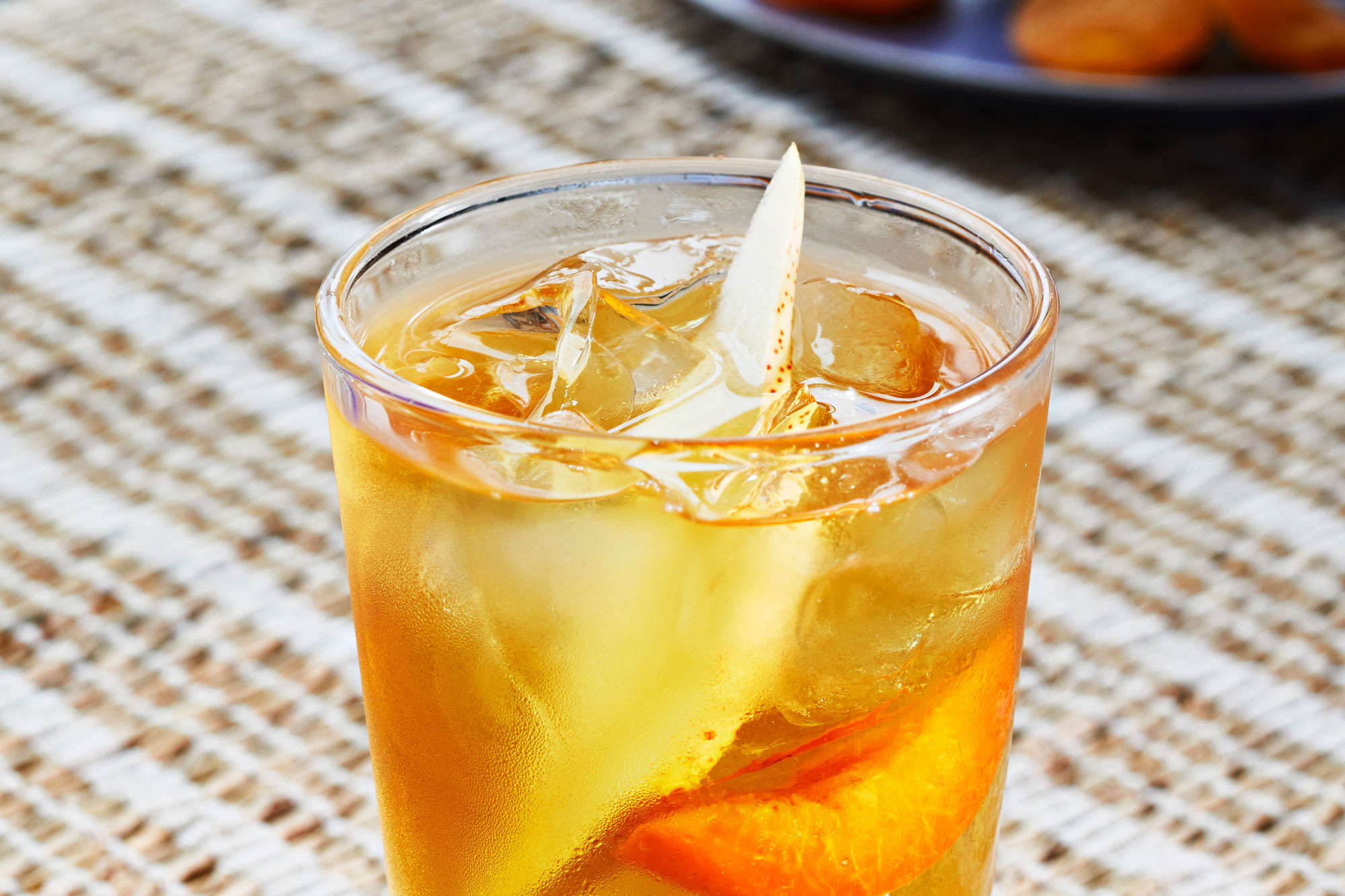 Pear Apricot Rum cooler