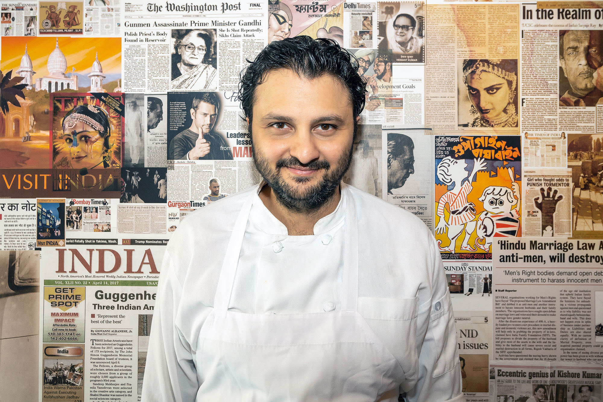 Portrait of Chef Chintan Pandya