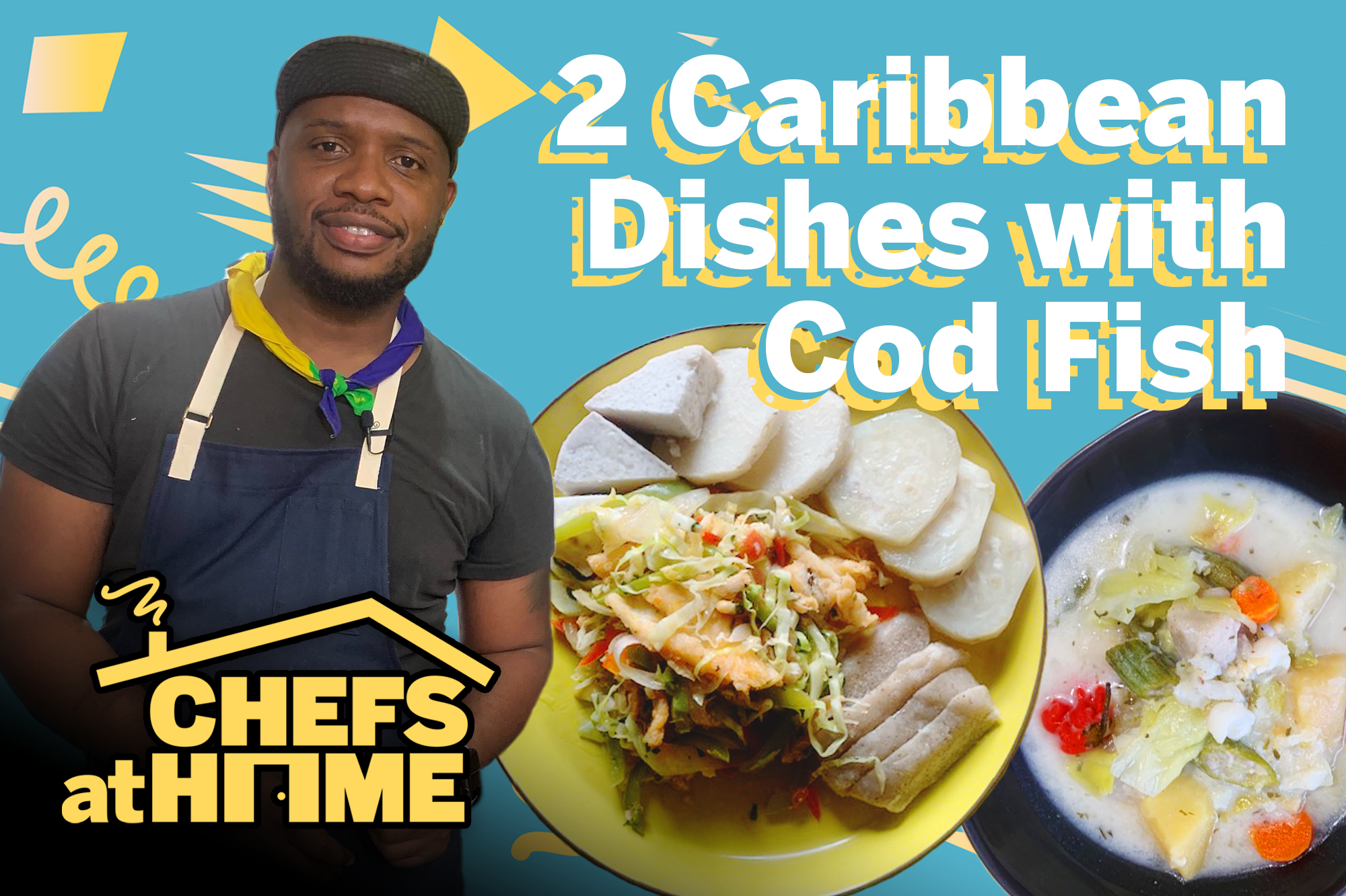 Rawlston Williams | Caribbean Dishes using cod