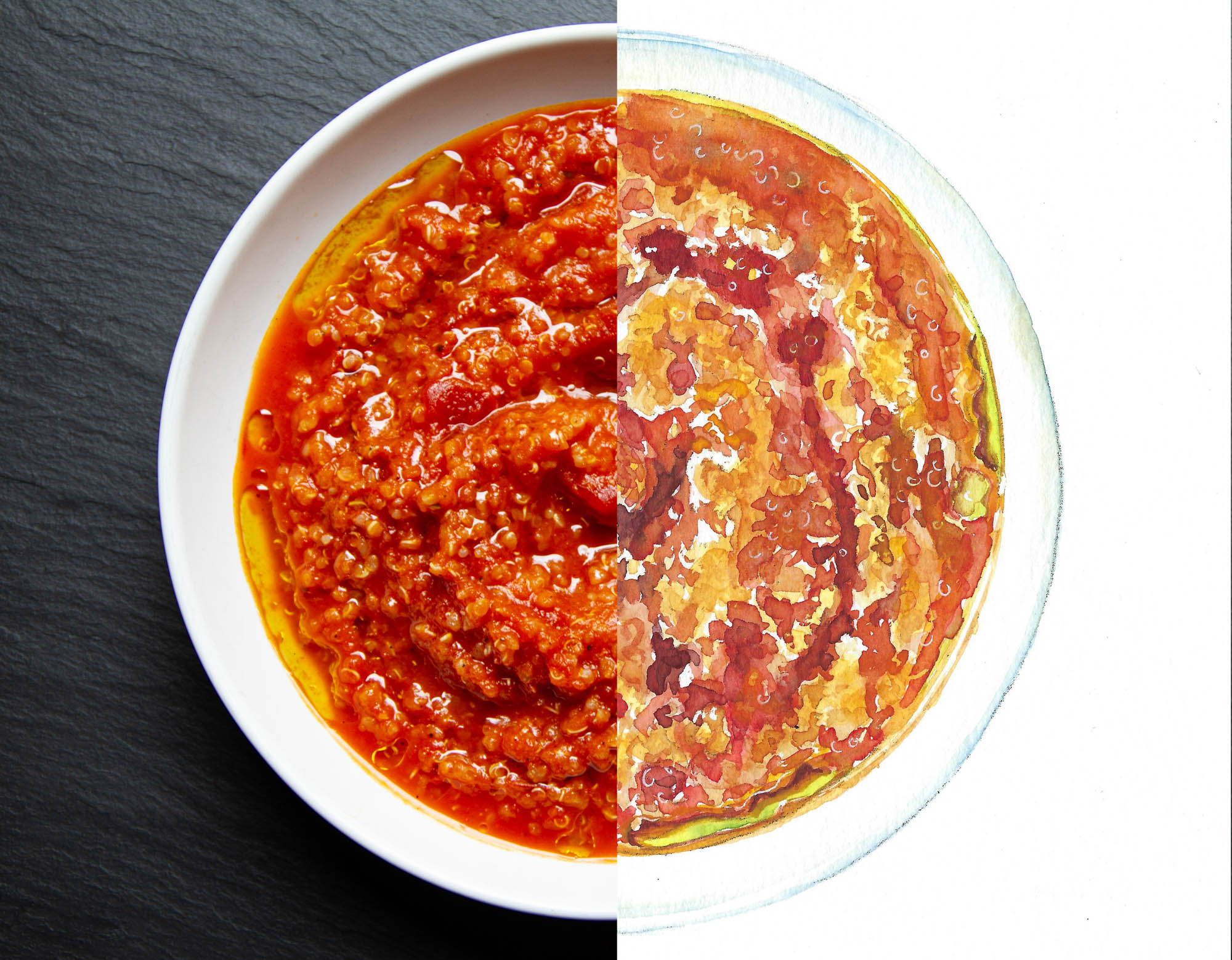 Tomato and Quinoa Soup