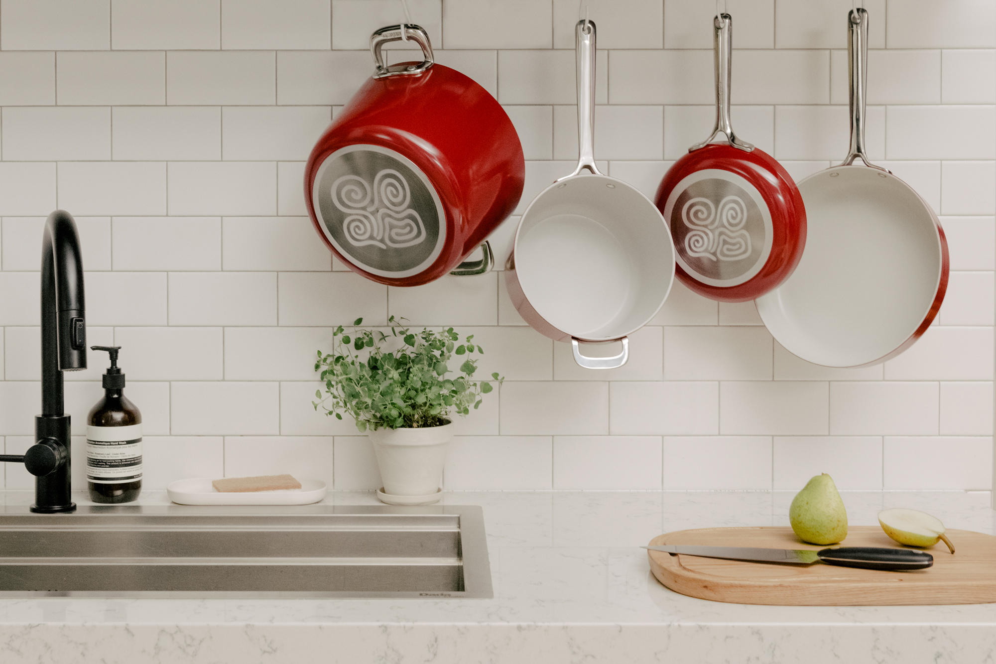 Equal Parts red cookware