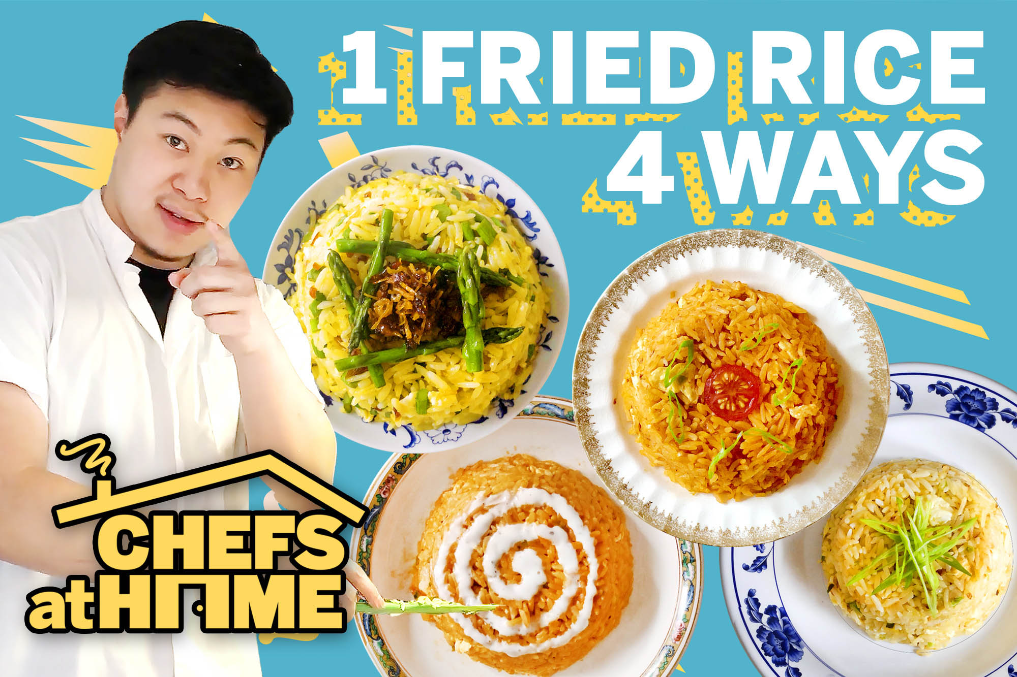 Lucas Sin | fried rice four ways