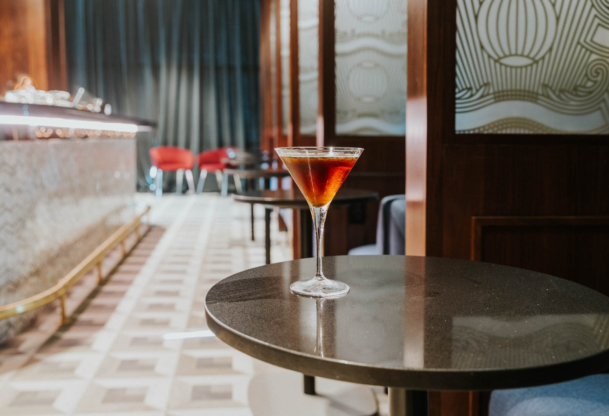 Centurion Lounge Mixologist Jim Meehan's Take on an Espresso Martini Featuring Irving Farms Coffee
