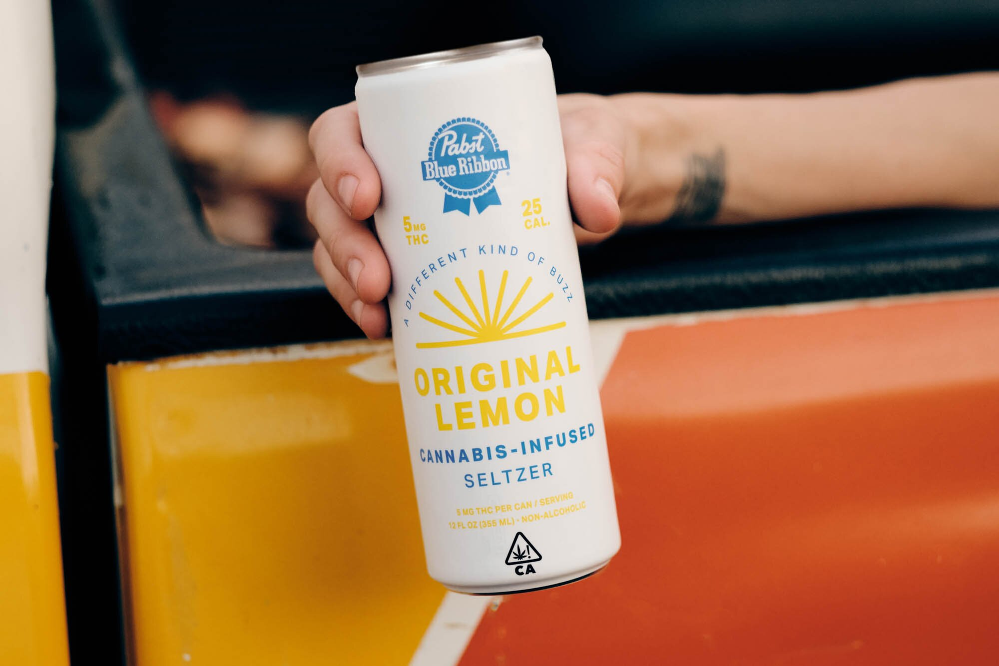 Pabst Cannabis-Infused Seltzer