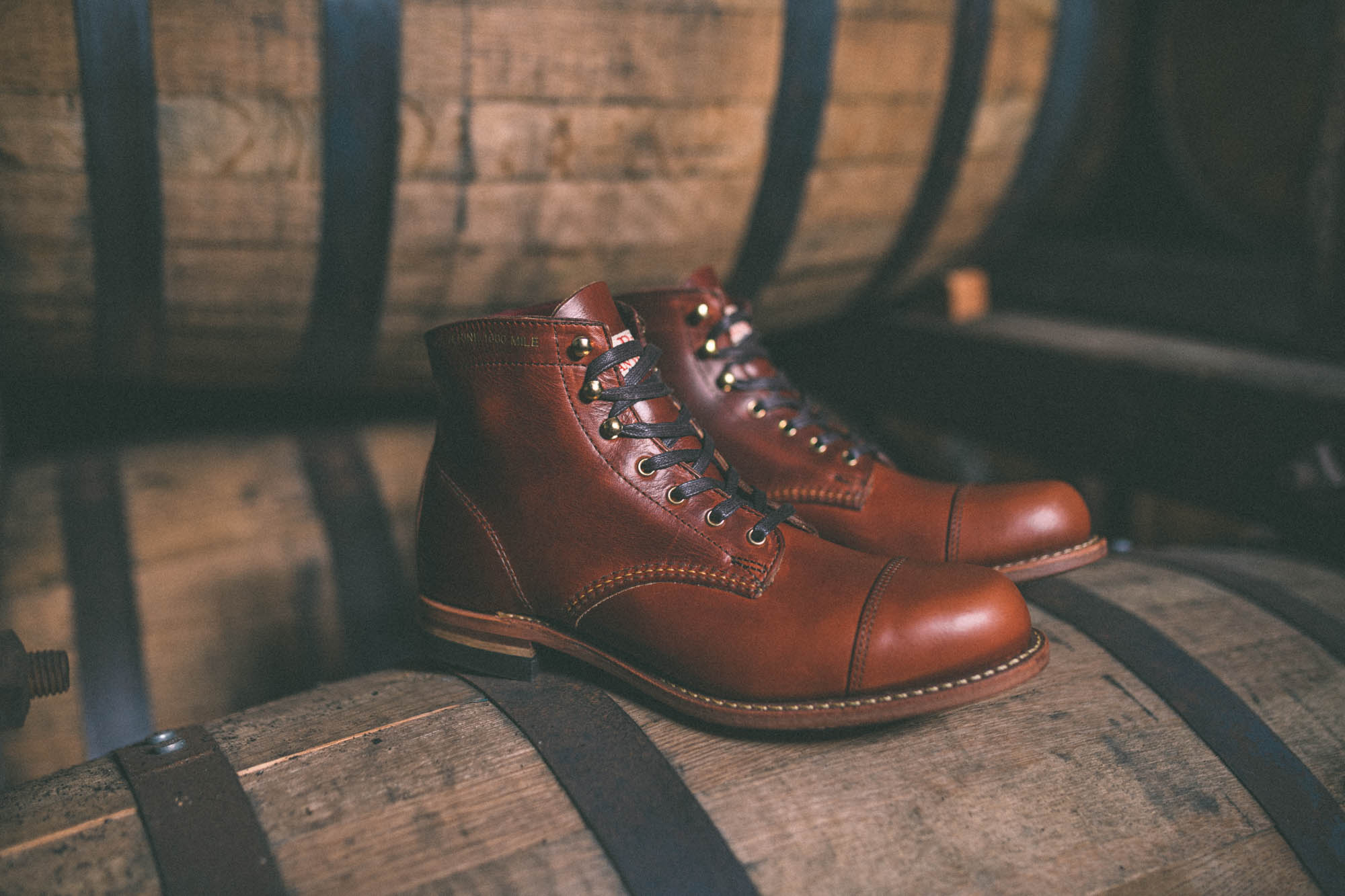 Wolverine x Old Rip Van Winkle Collaboration Boot