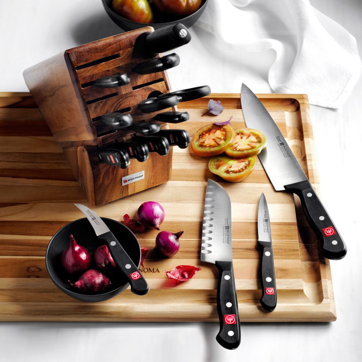 16 piece knife set