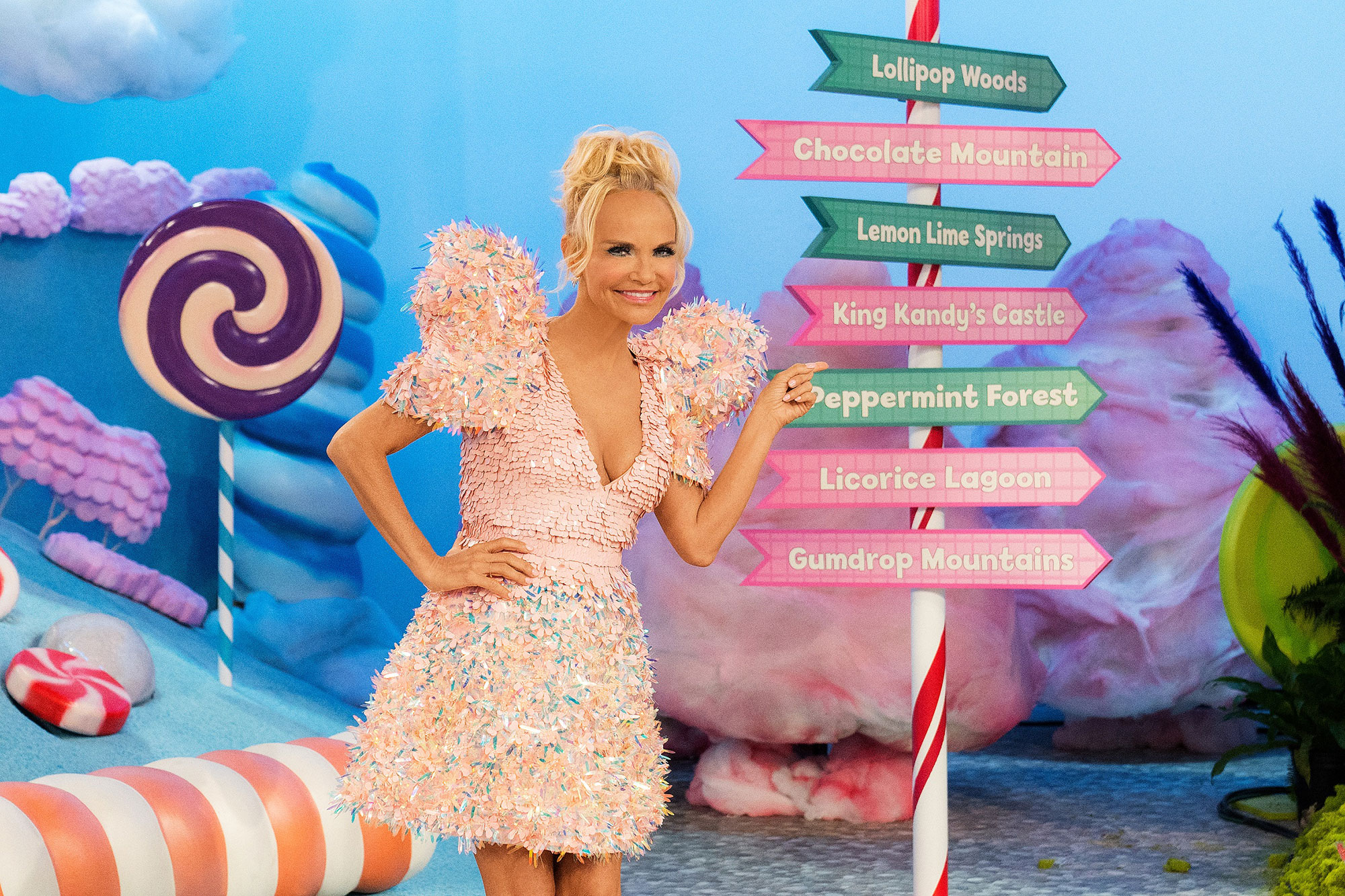 Candy Land series on Food Network with host Kristin Chenoweth