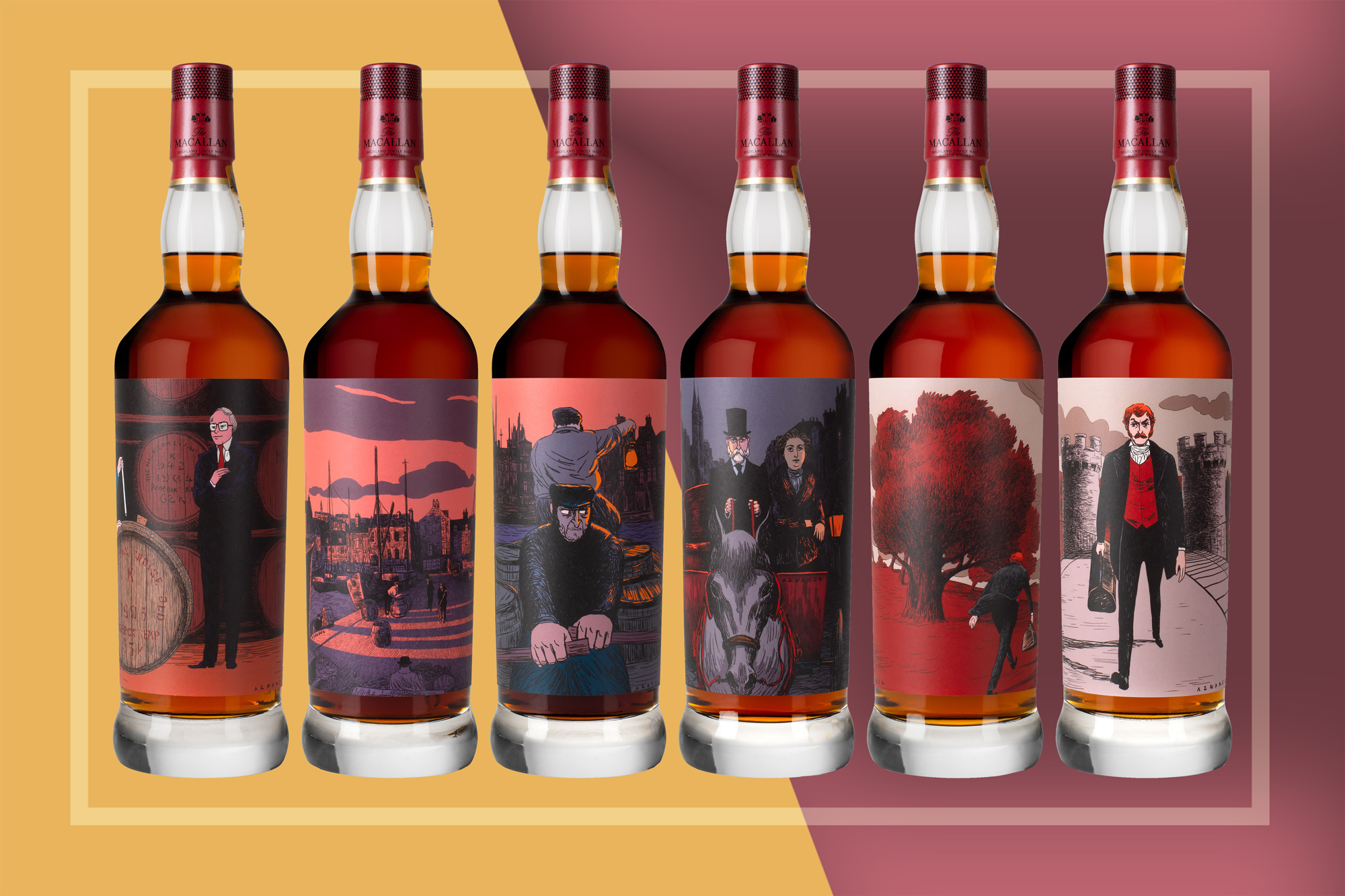 Macallan whiskey auction