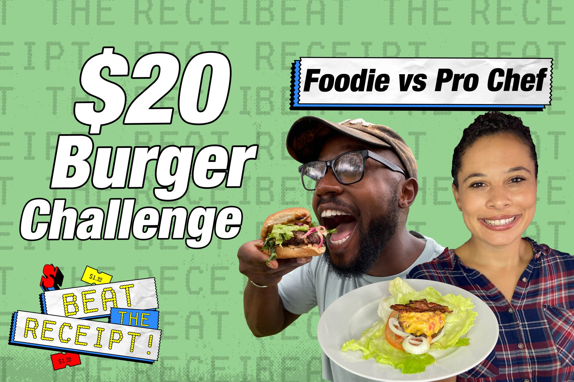 Beat the Receipt Burger Challenge