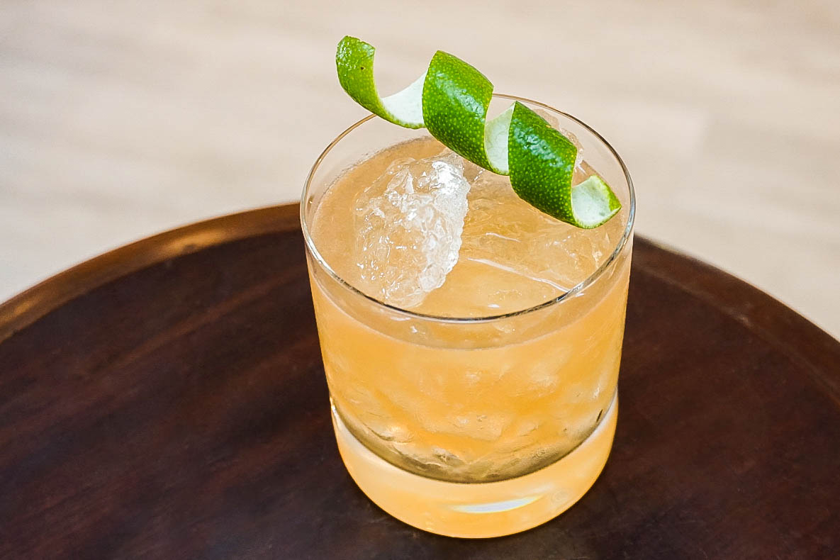 Dark Rum and Fall Spice Cocktails