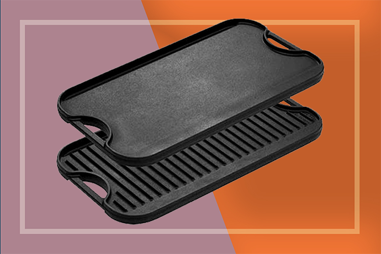Lodge Cast Iron Grill Griddle