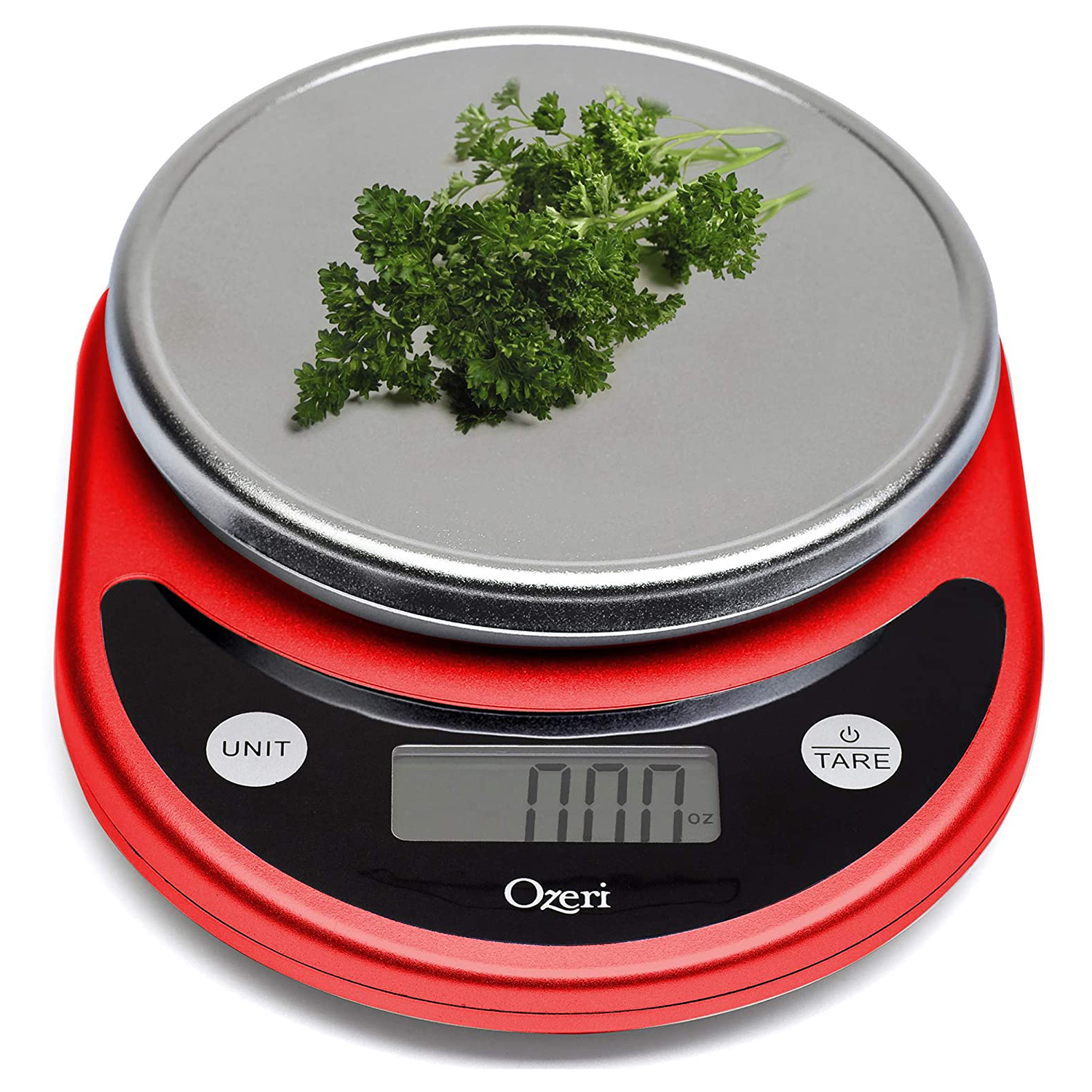Ozeri ZK14-R Pronto Digital Multifunction Kitchen and Food Scale