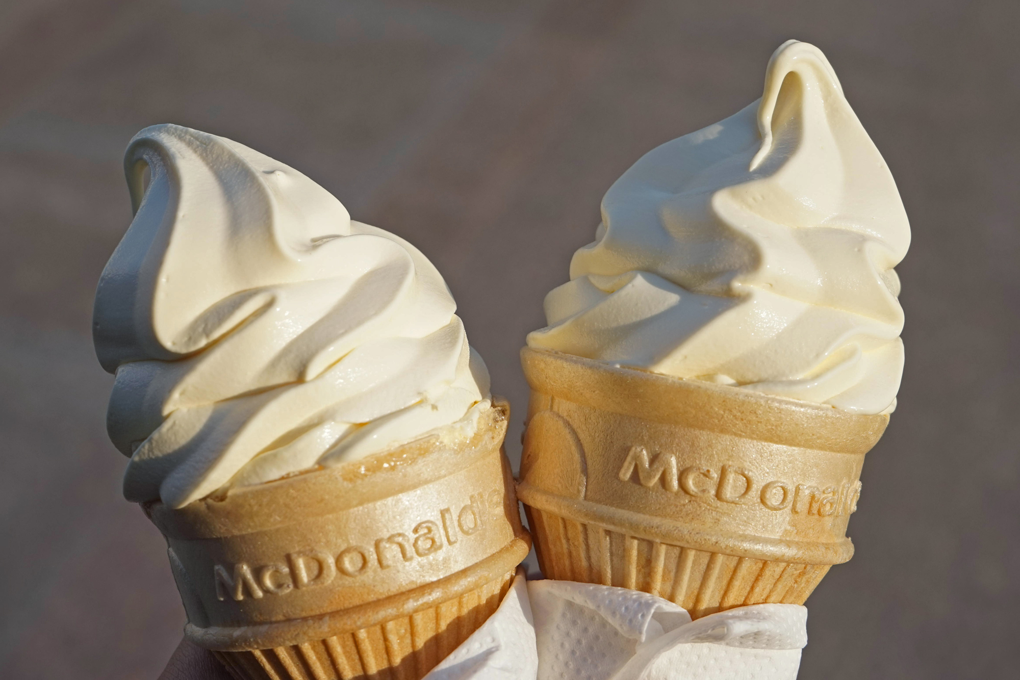 McDonald's Ice Cream Cones