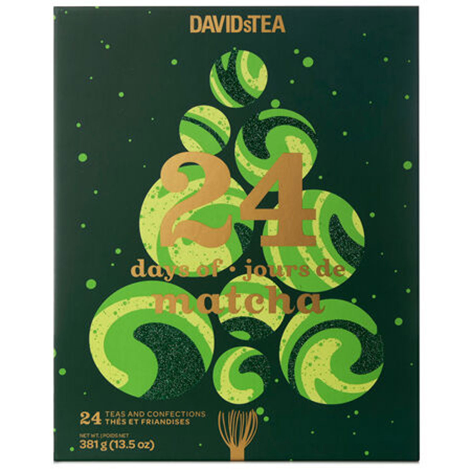24 days of matcha calendar