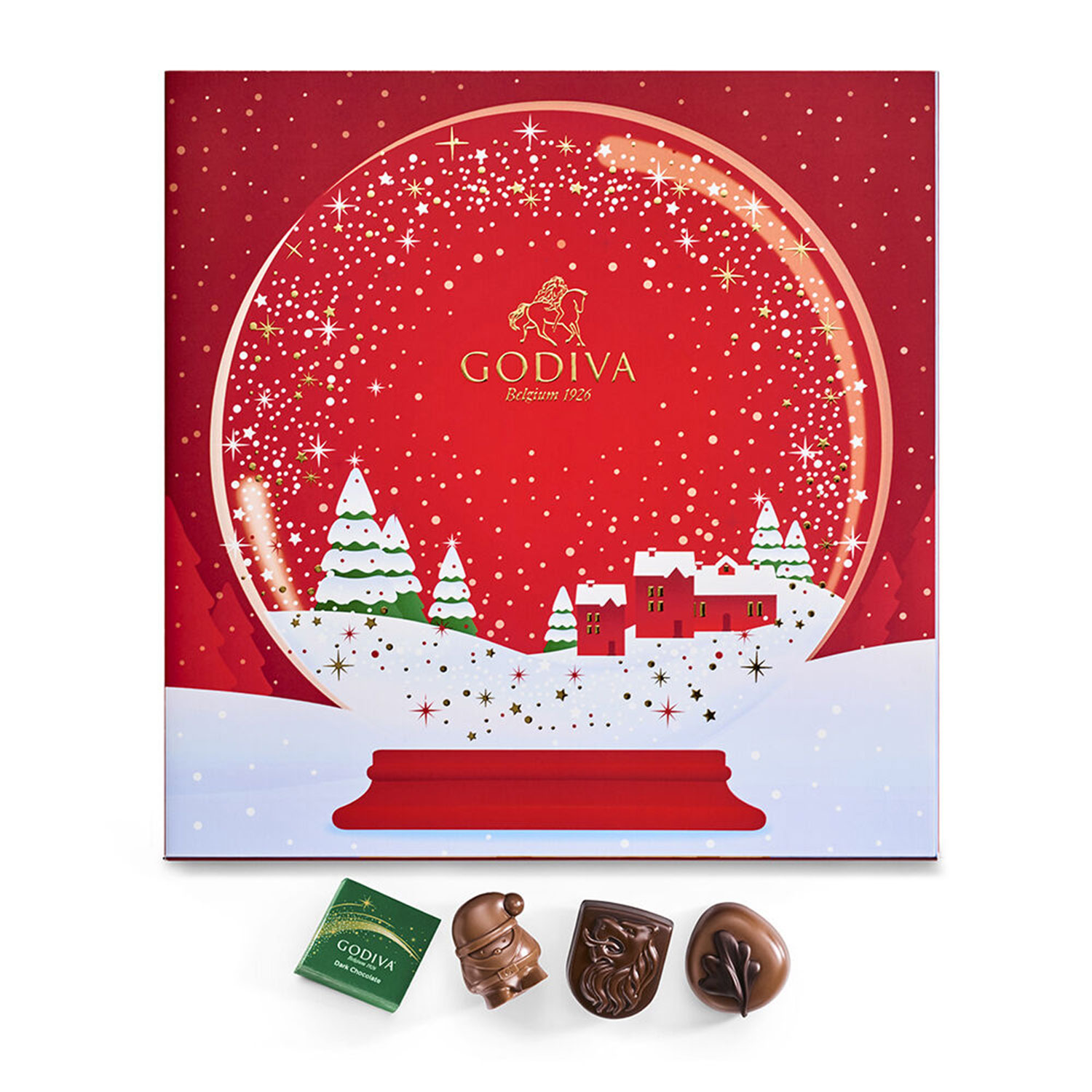 holiday luxury chocolate advent calendar