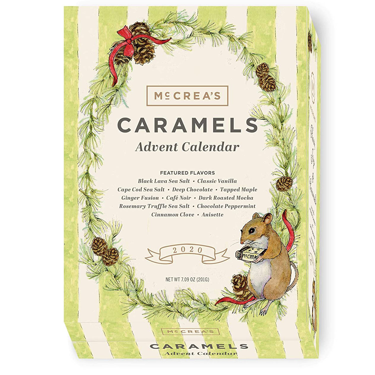 mccreas candies caramel advent calendar