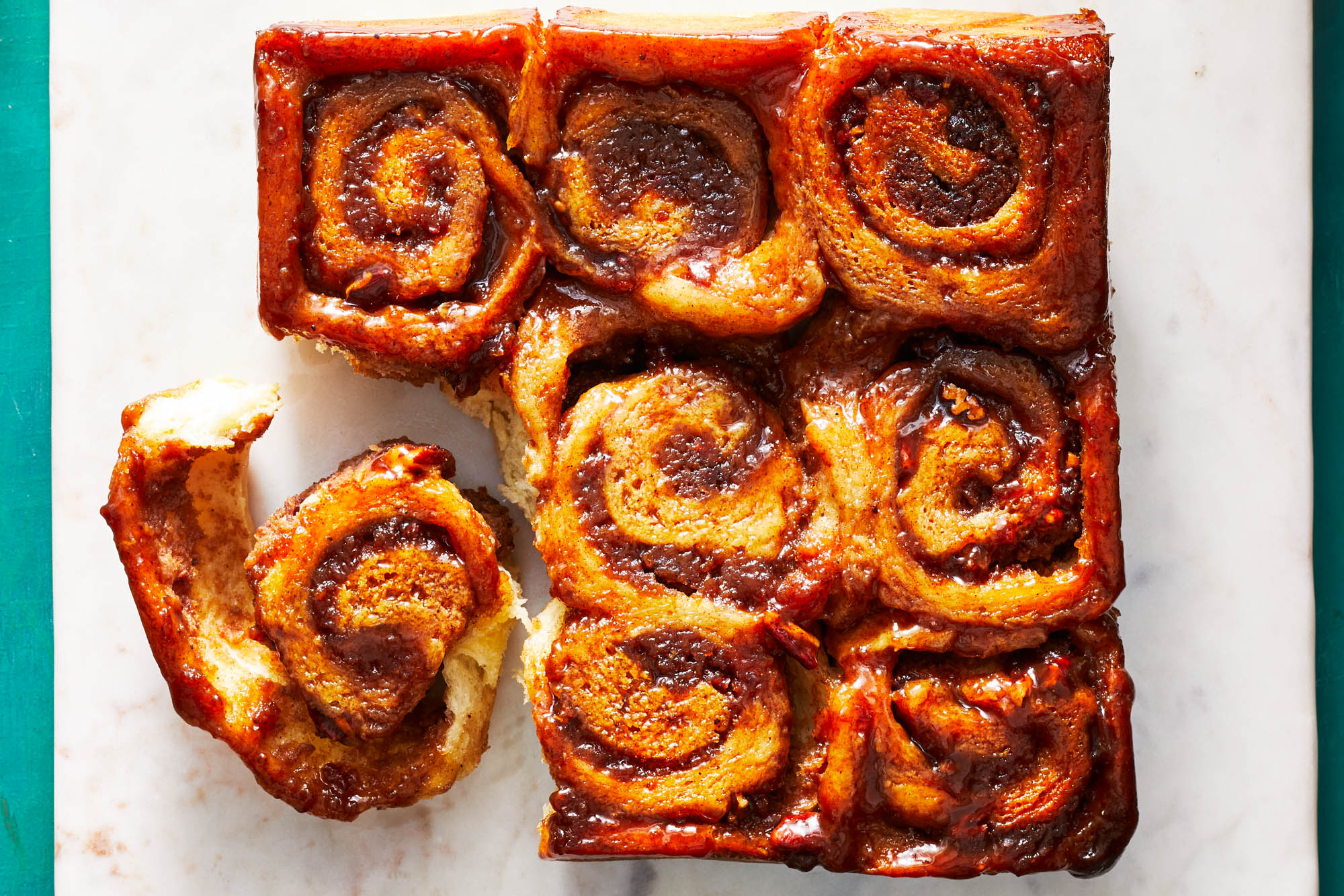 Plantain Sticky Buns
