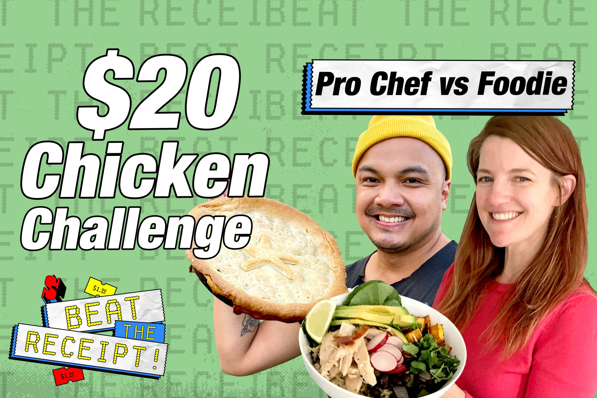 Beat the Receipt Chicken Challenge
