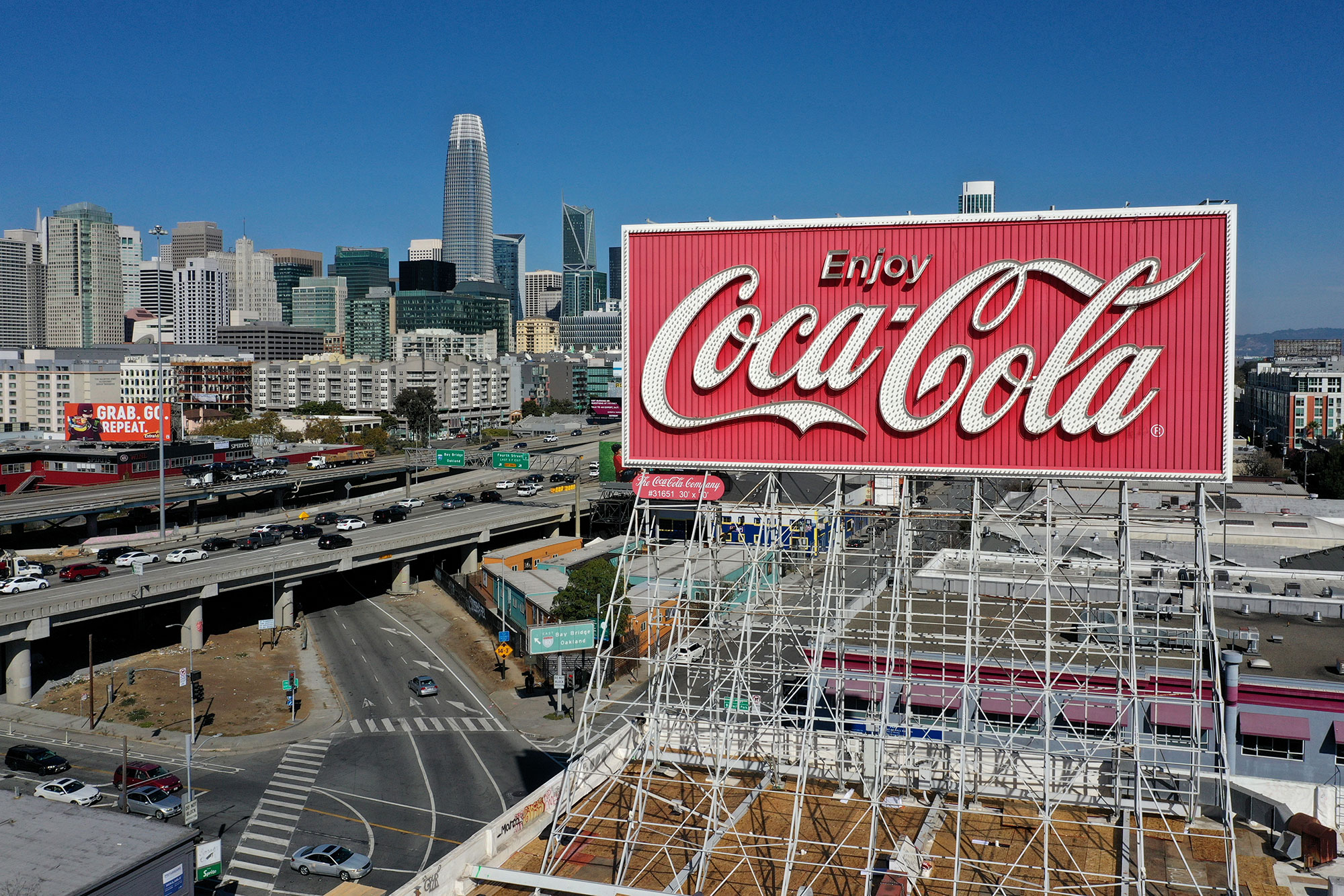 San Francisco's Iconic Coca-Cola Sign To Be Taken Down