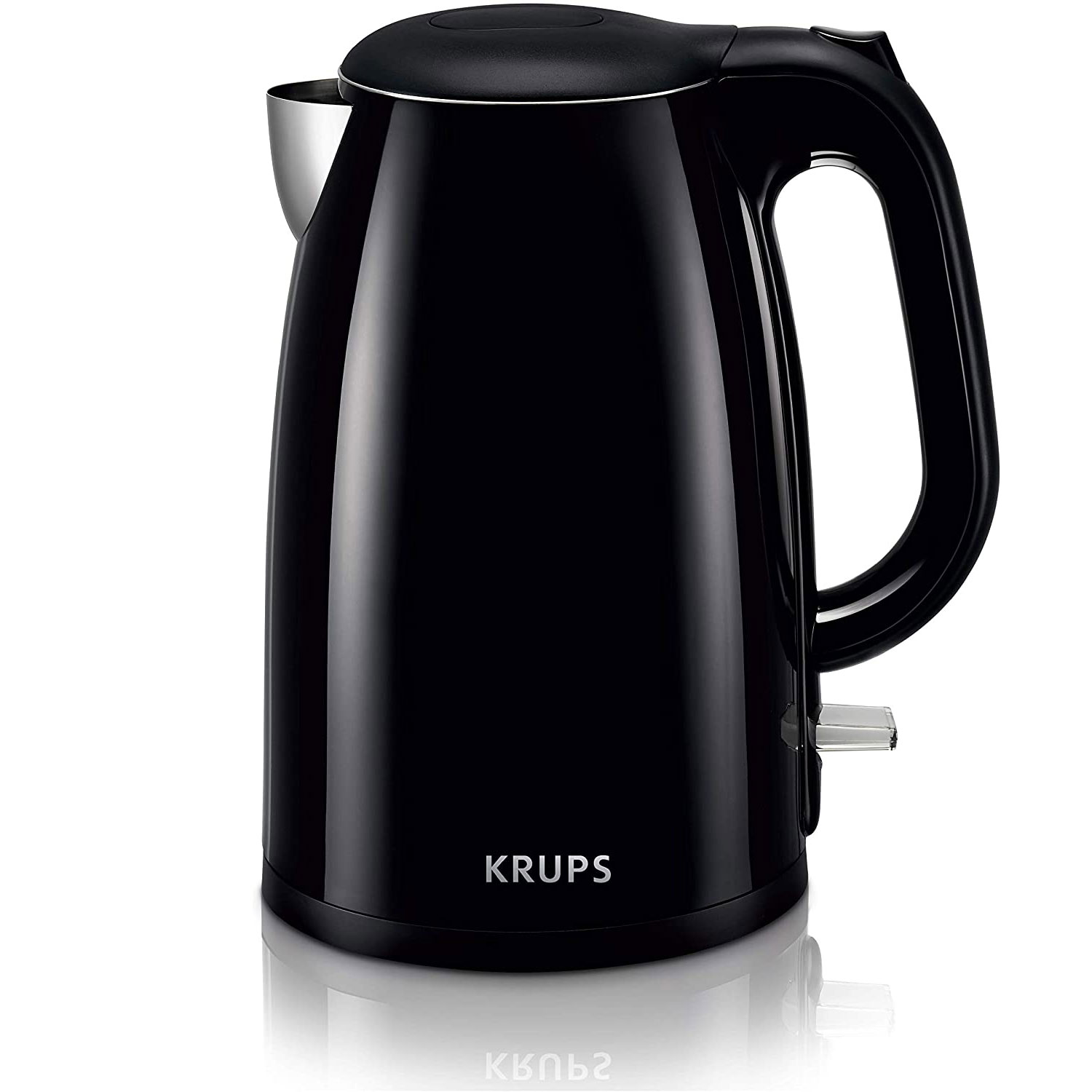 krups cool touch stainless steel double wall electric kettle