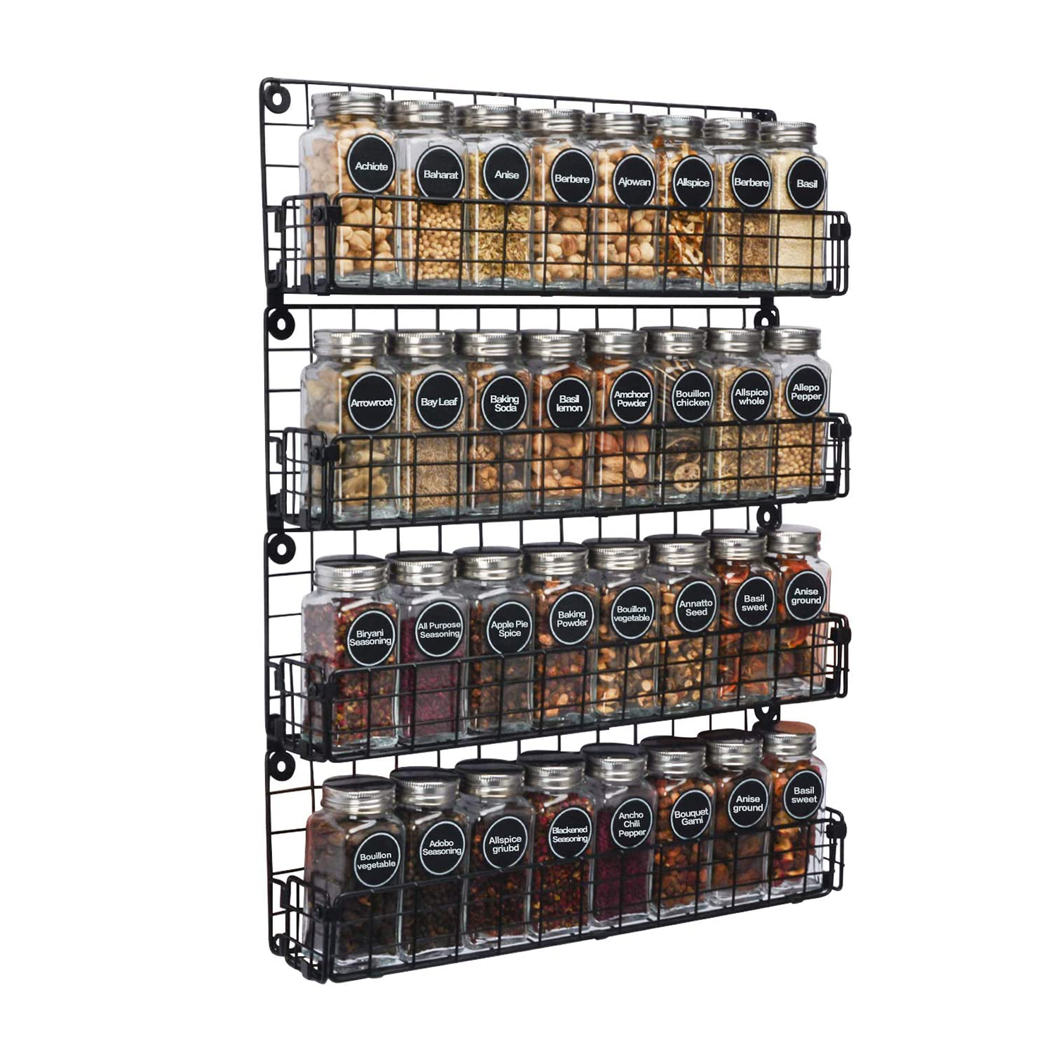 The 15 Best Spice Racks Of 2021 According To Reviews Food Wine