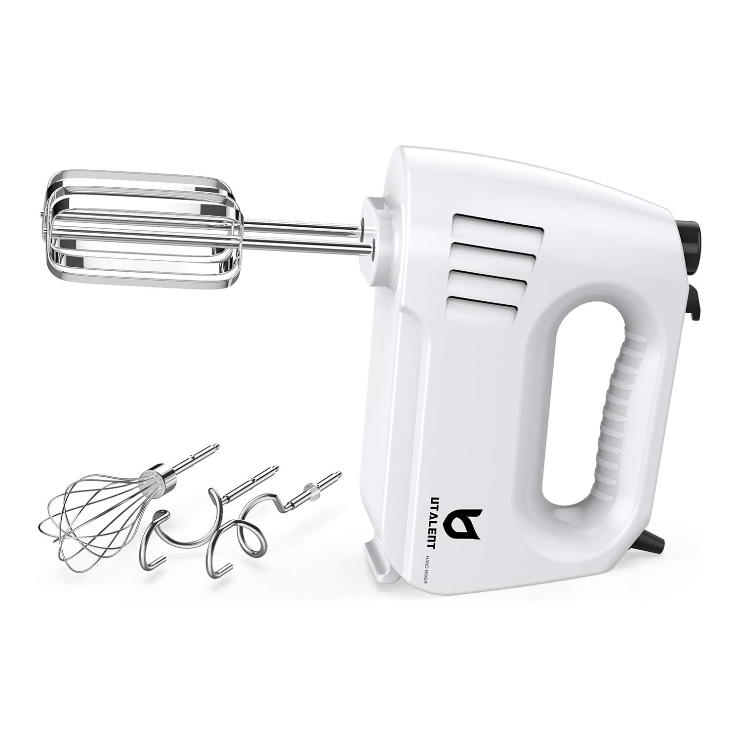 Hand Mixer Electric, Utalent 180W Multi-speed Hand Mixer with Turbo Button