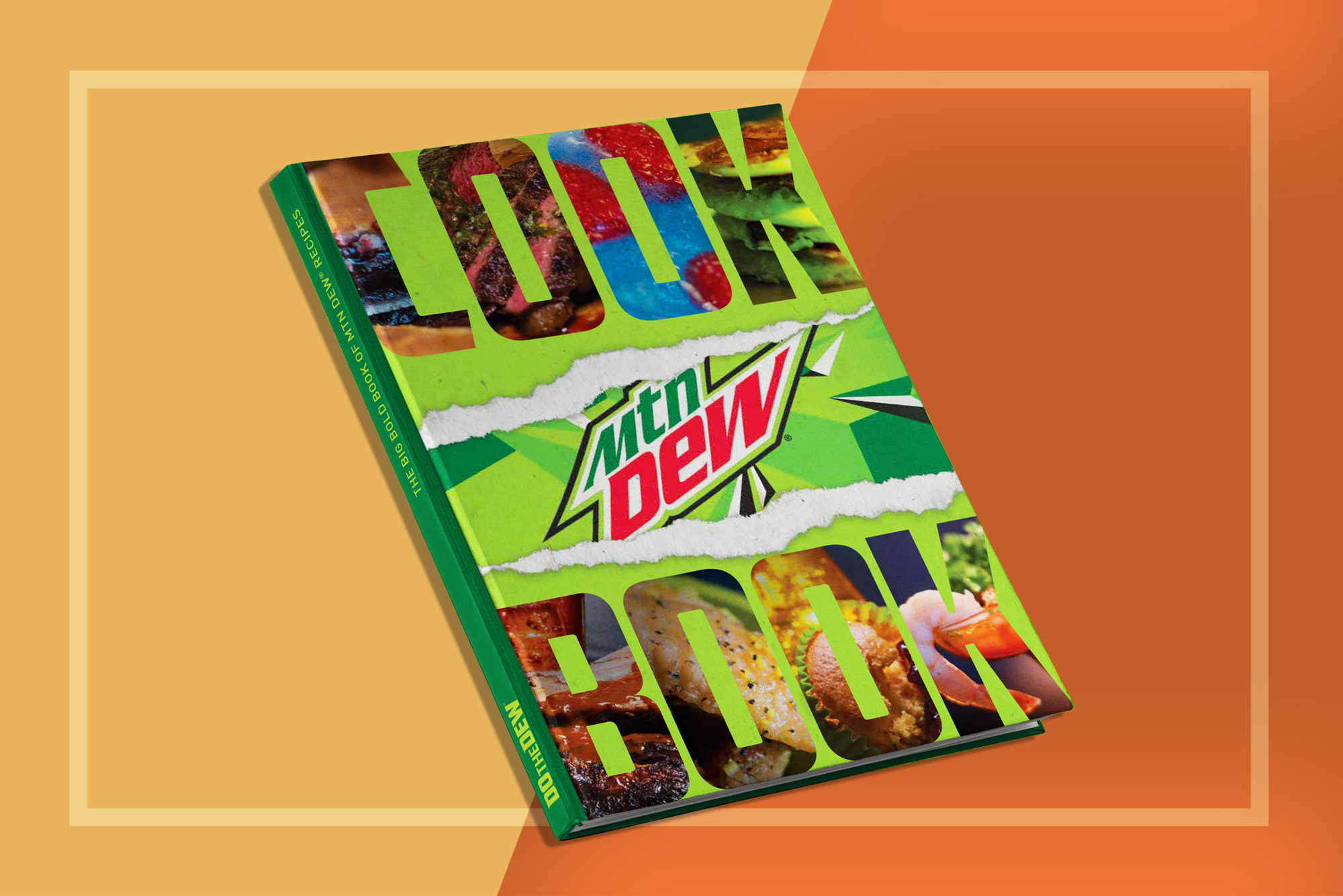 Official Mtn Dew Cookbook