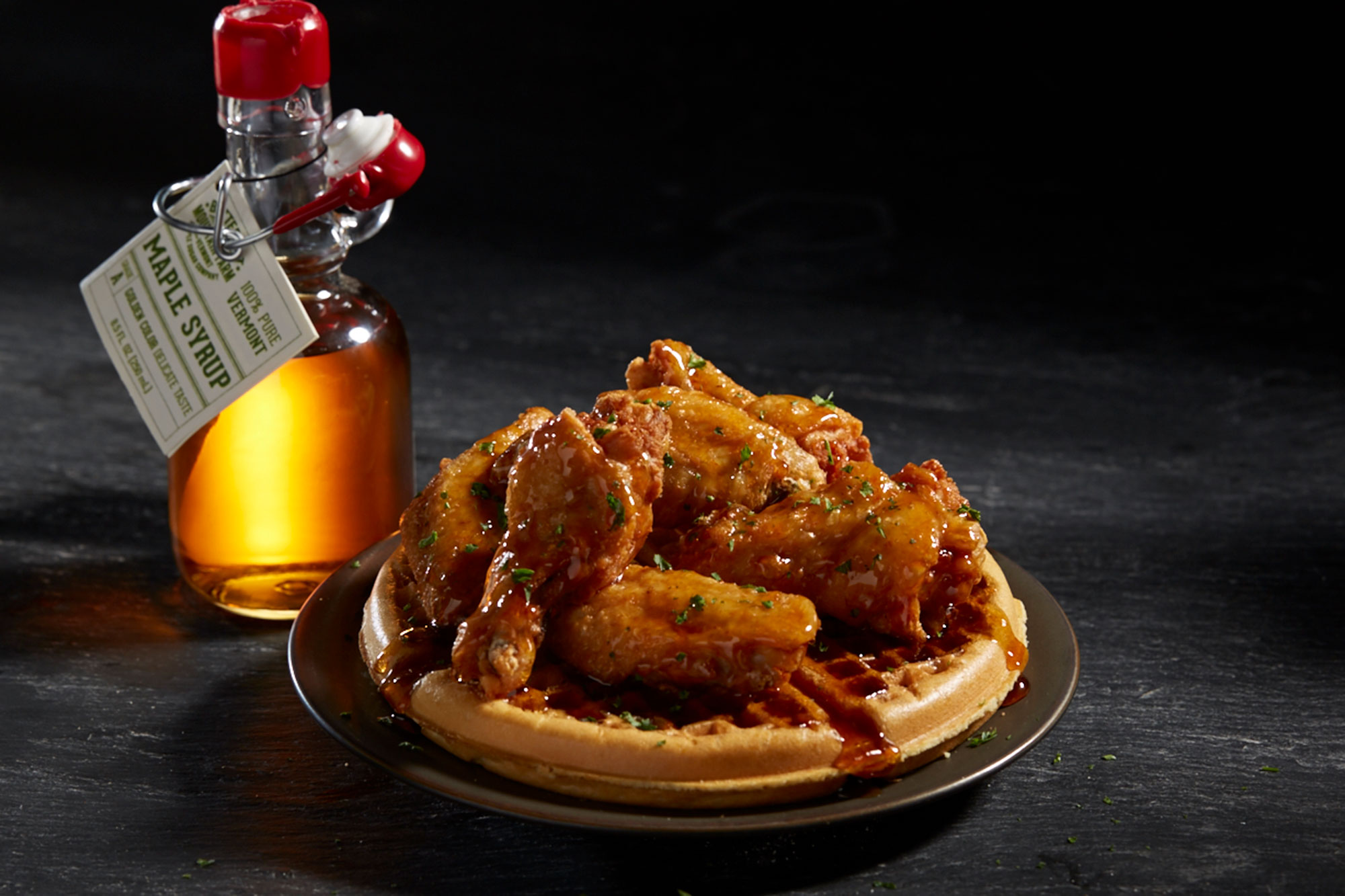 Nathans wings and waffles delivery