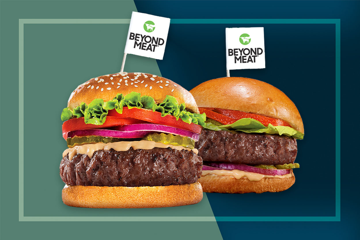 New Beyond Meat Burger