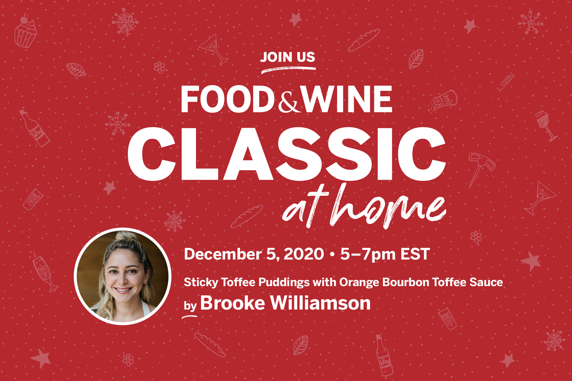Food & Wine Class at Home, Holiday Edition