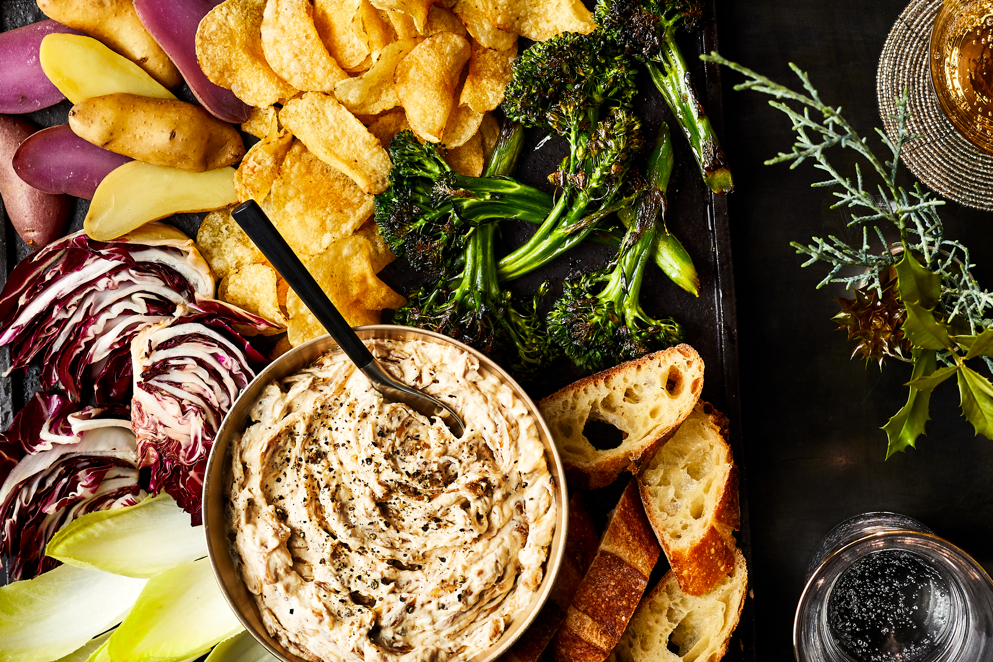 Caramelized Five Onion Dip