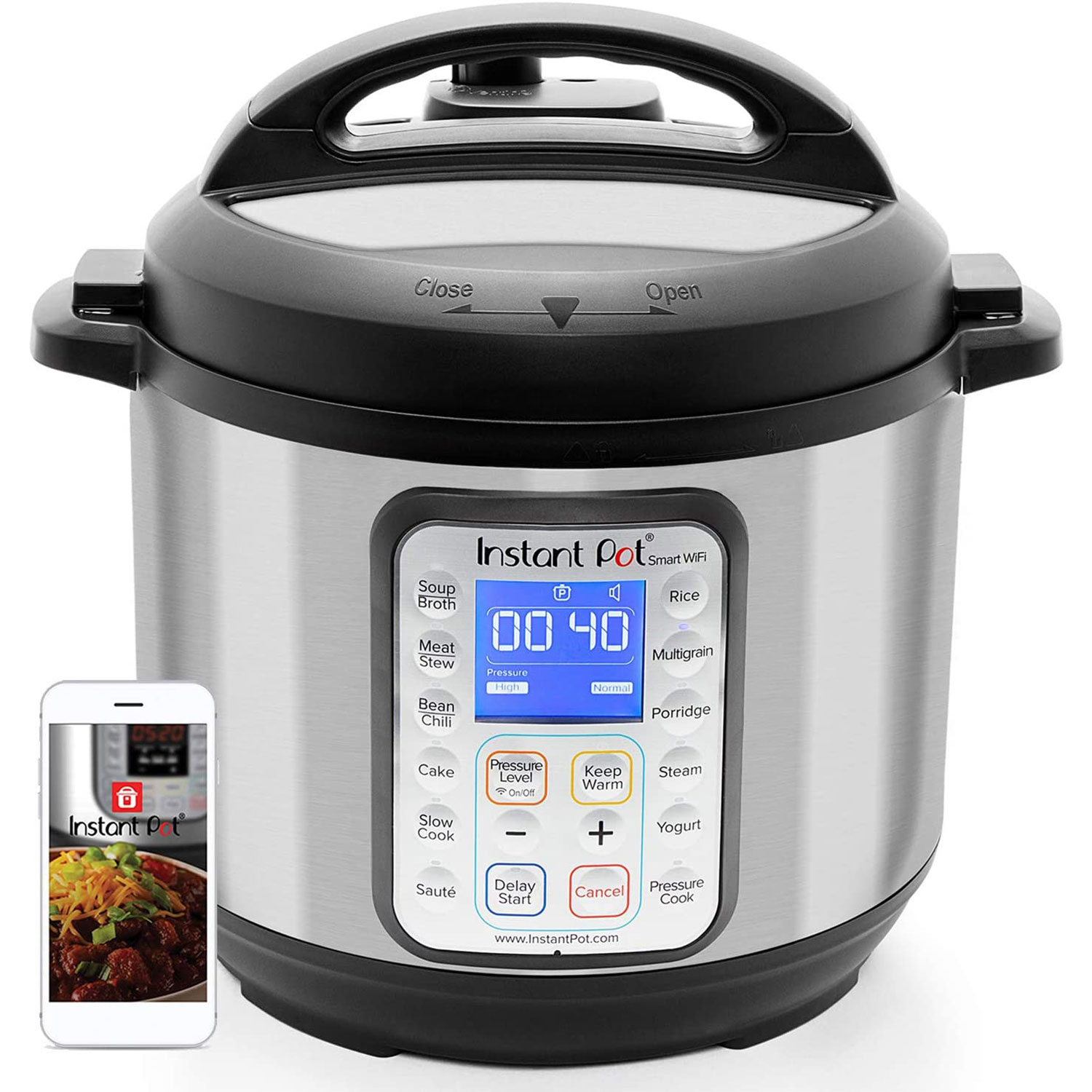 instant pot smart wifi electric pressure cooker sterilizer