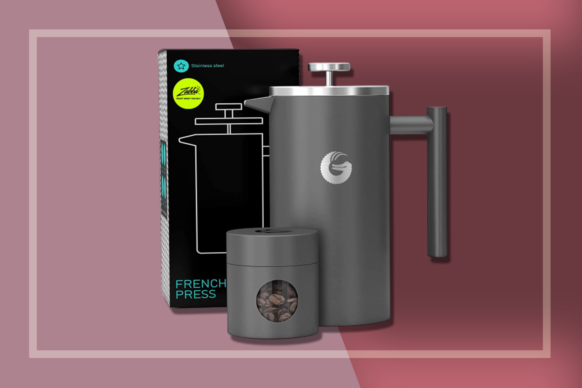 insulated french press