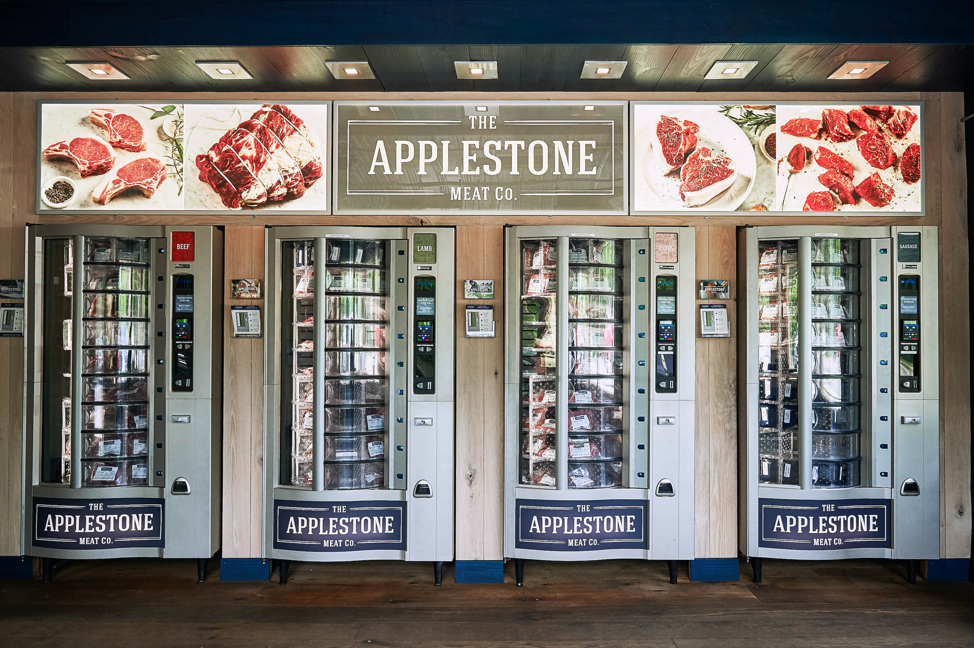 Applestone Meat Co. vending machines