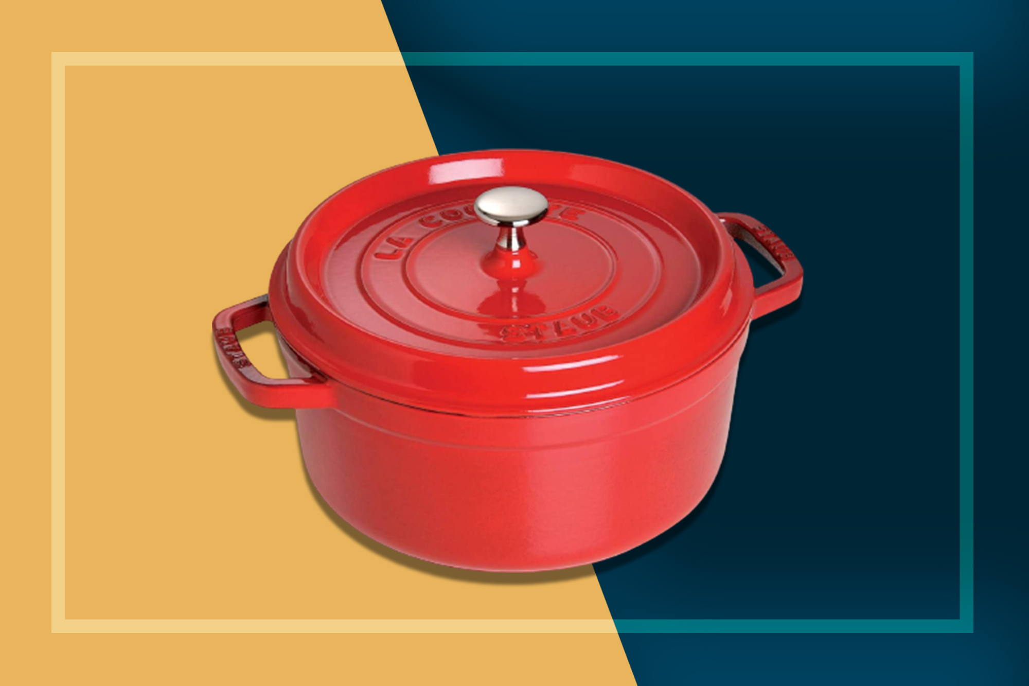 staub cocotte deal