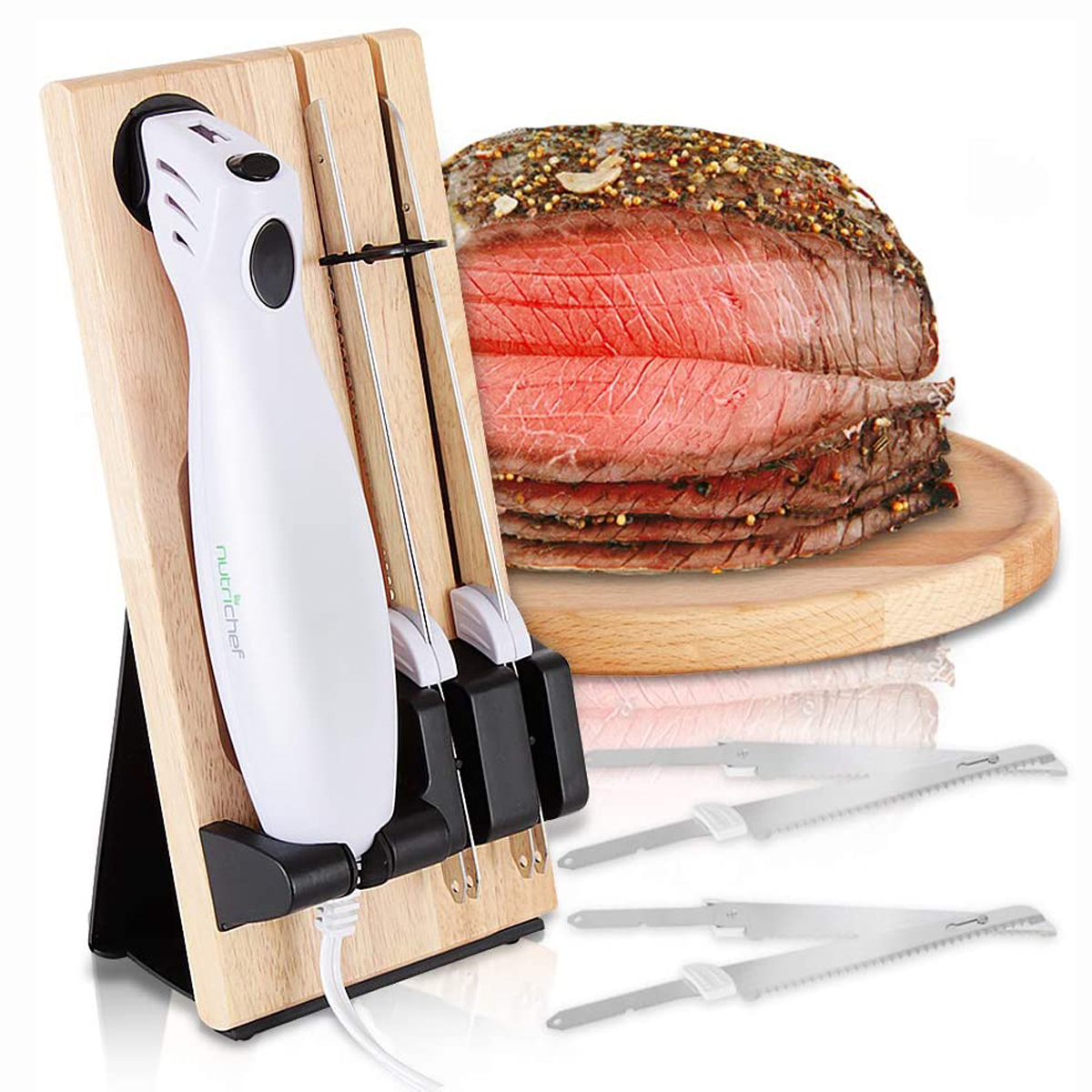 electric carving knife nutrichef