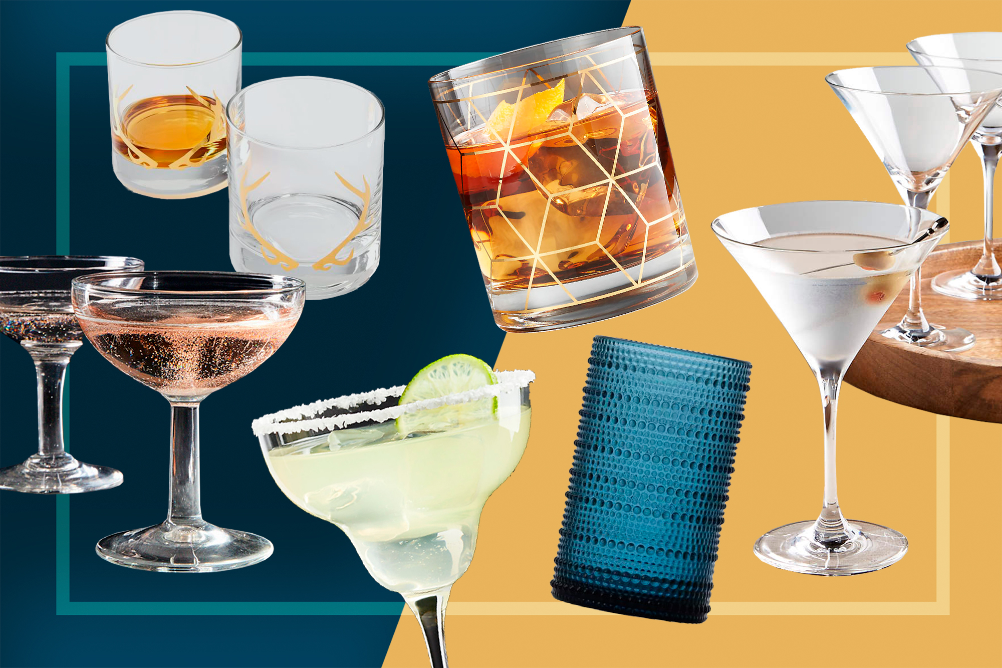 Home Bar Drinking Glasses