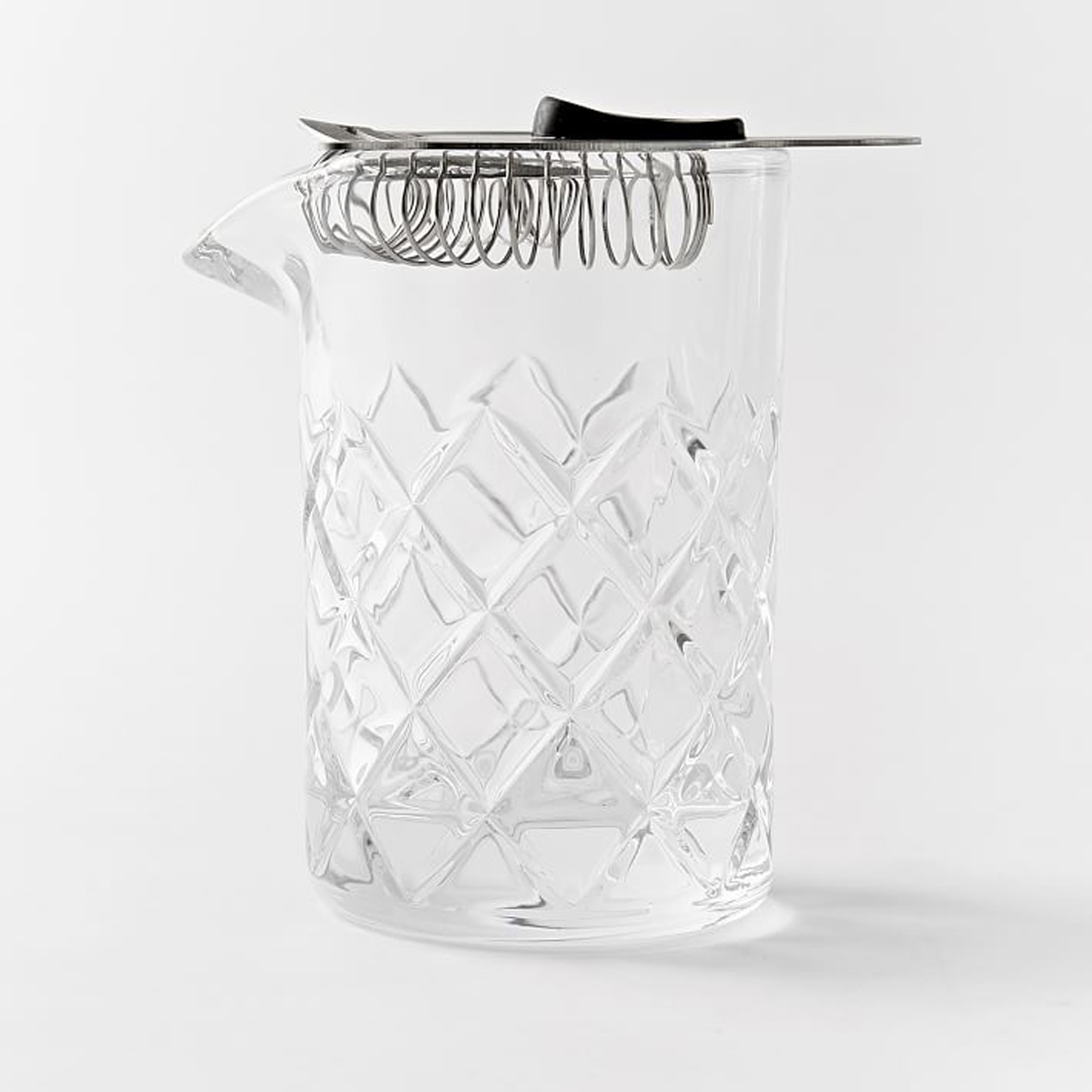 Every home bar needs a proper mixing glass, for drinks that are stirred instead of shaken. This one is a class act that comes with a Hawthorne strainer and looks great on any bar cart or bar cabinet.West Elm Essential Barware, Yarai Mixing Pitcher + Hawthorne Strainer, $23 at westelm.com