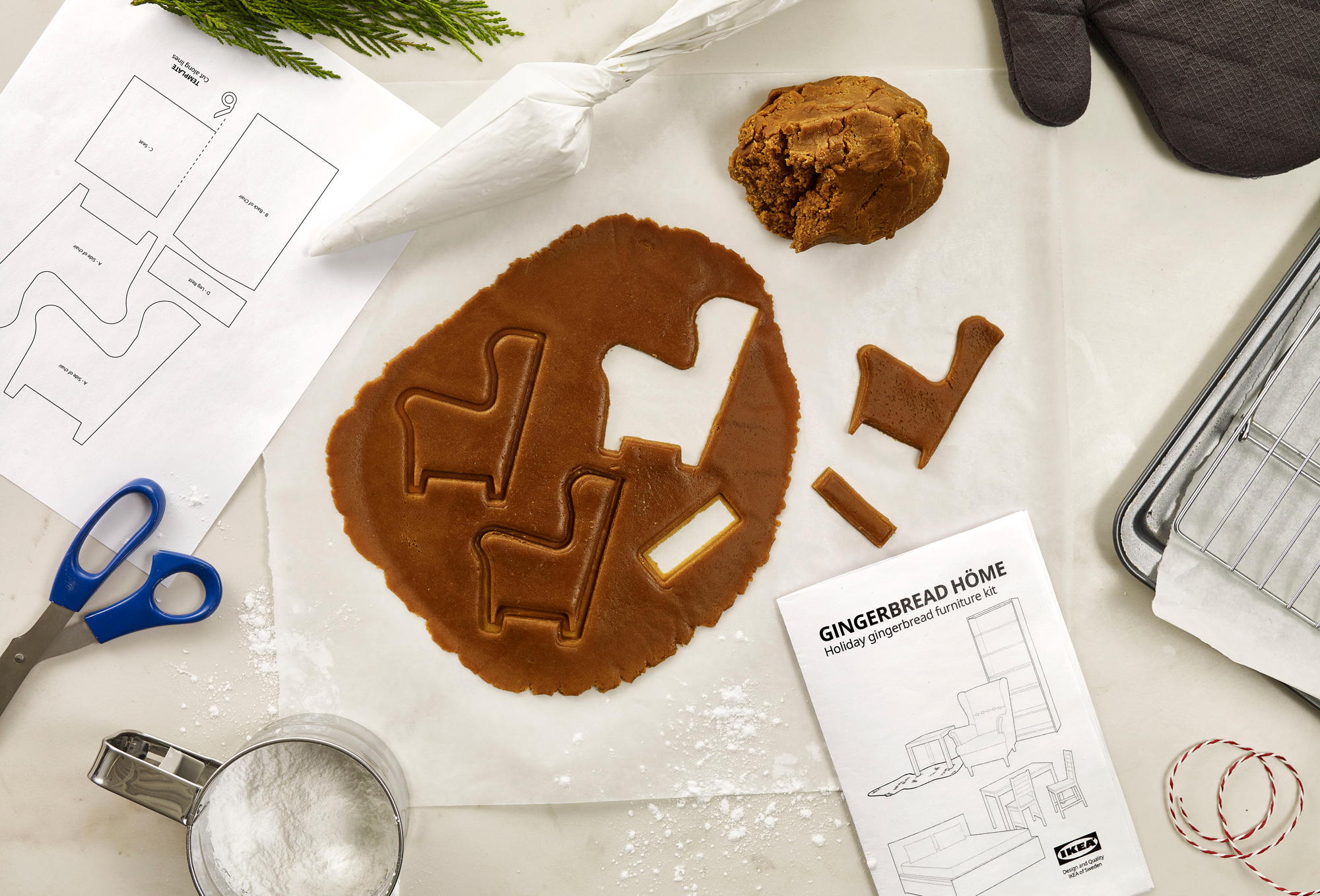 IKEA Gingerbread Home