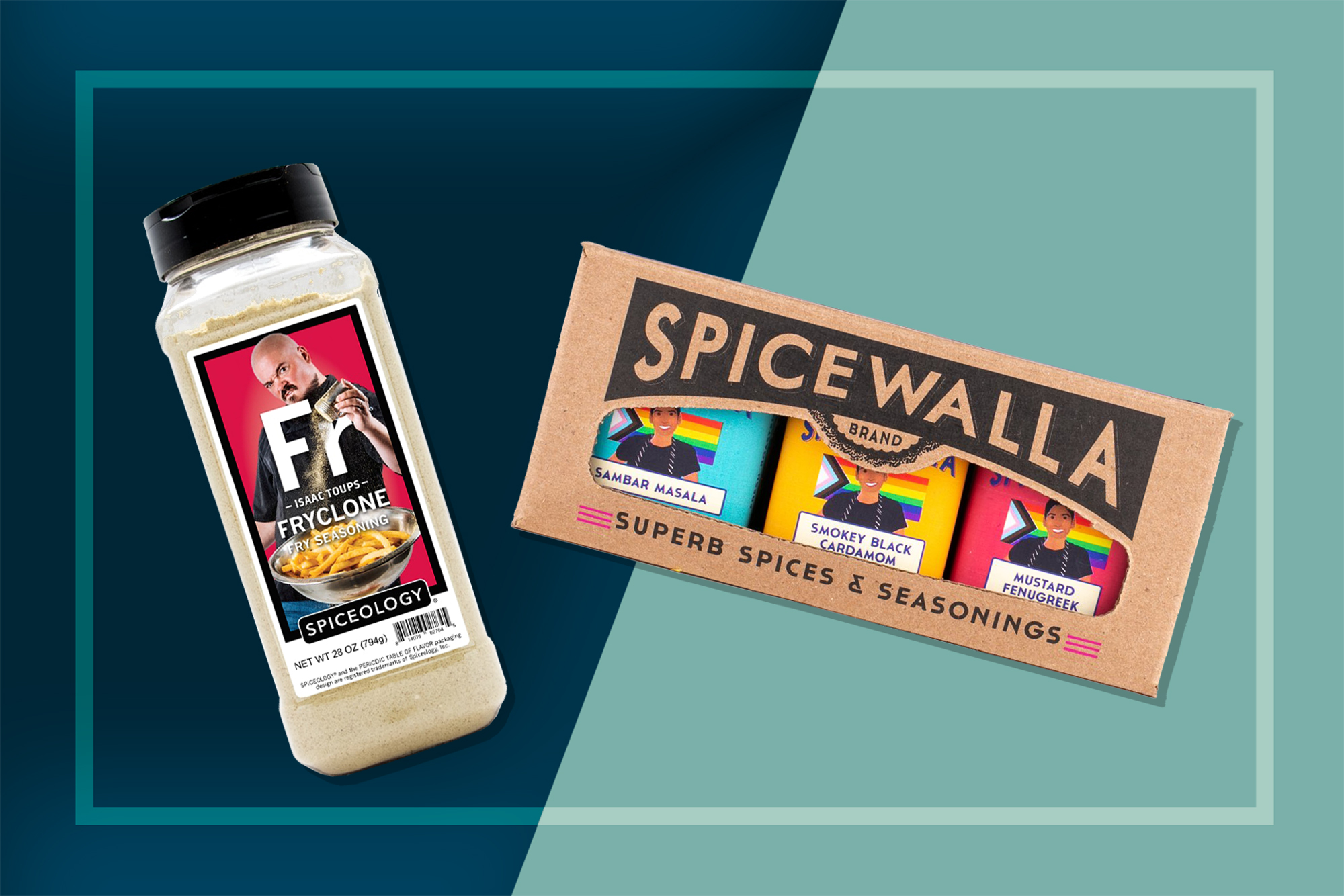 Spiceology's Fryclone and Spicewalla's Preeti Mistry 3-Pack Spices
