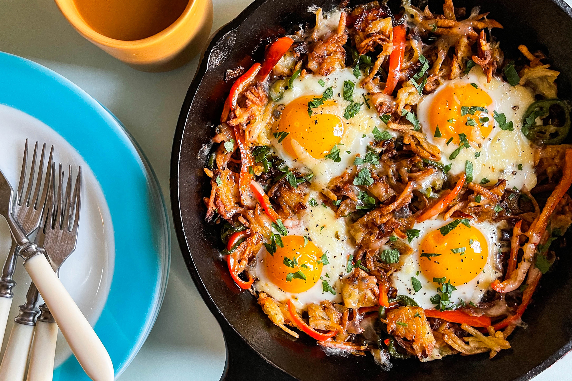Latke Breakfast Hash Recipe