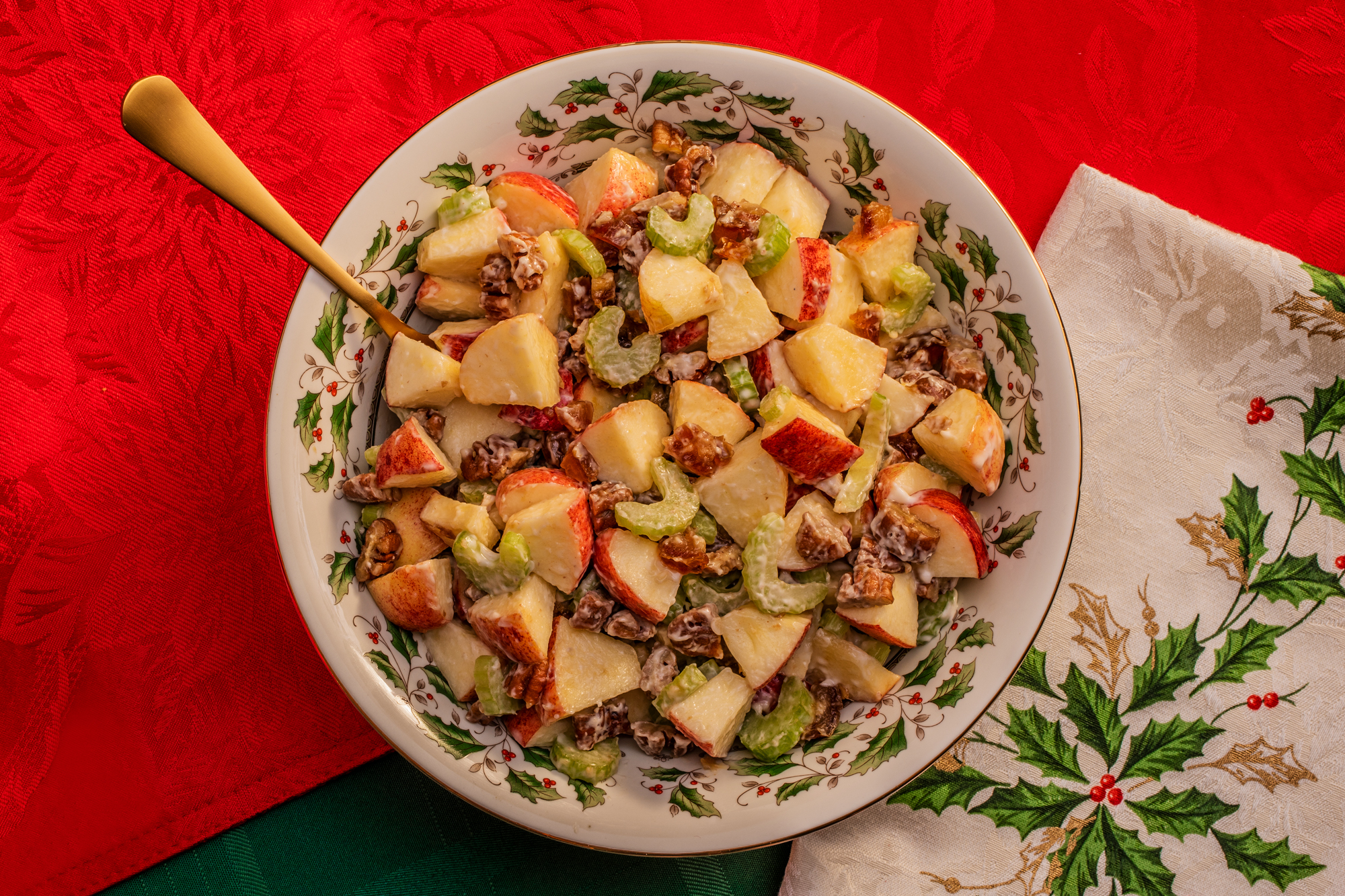 Flambo Jambo Christmas Dinner | Waldorf salad