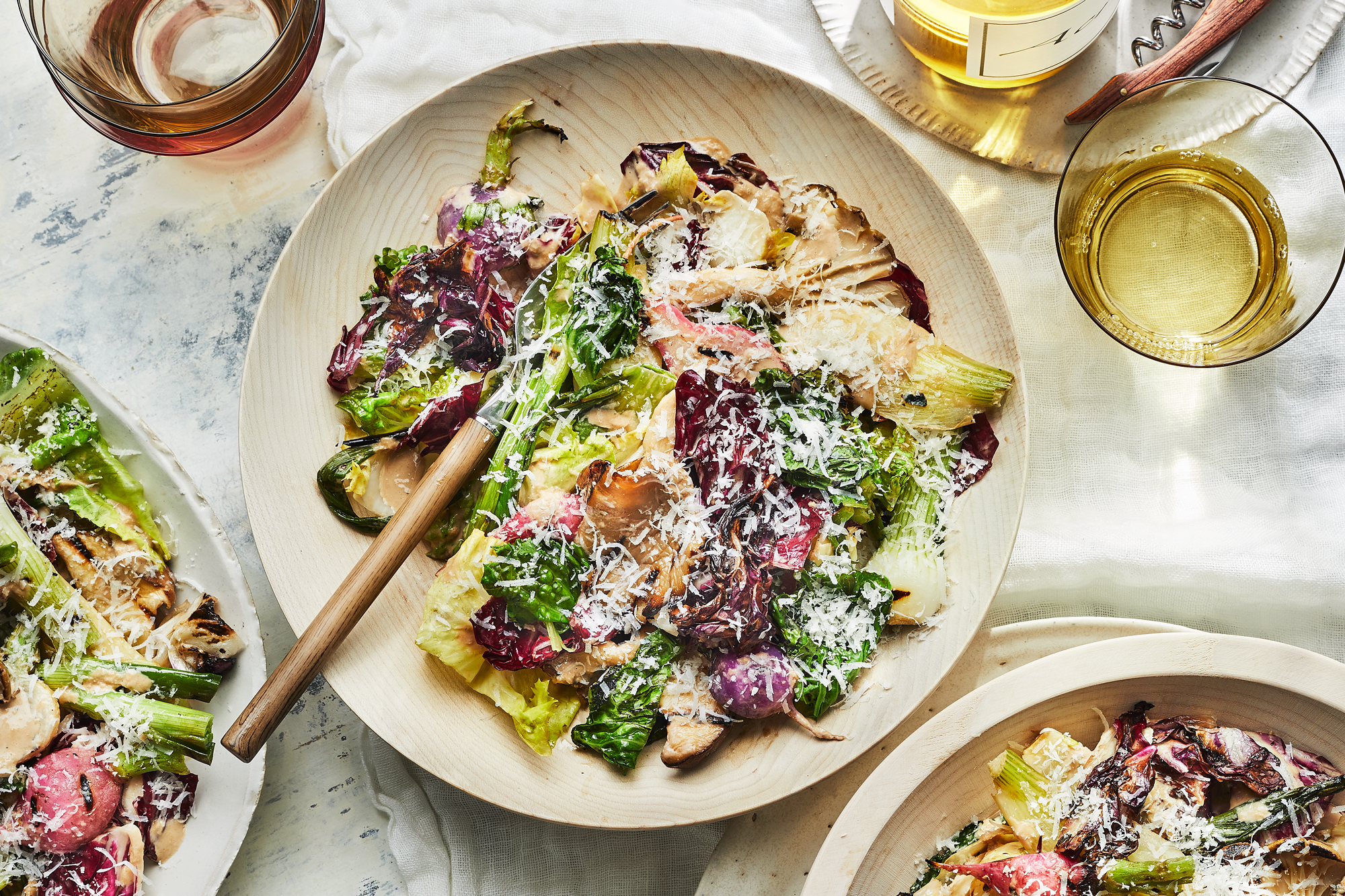 Any-Season Caesar salad