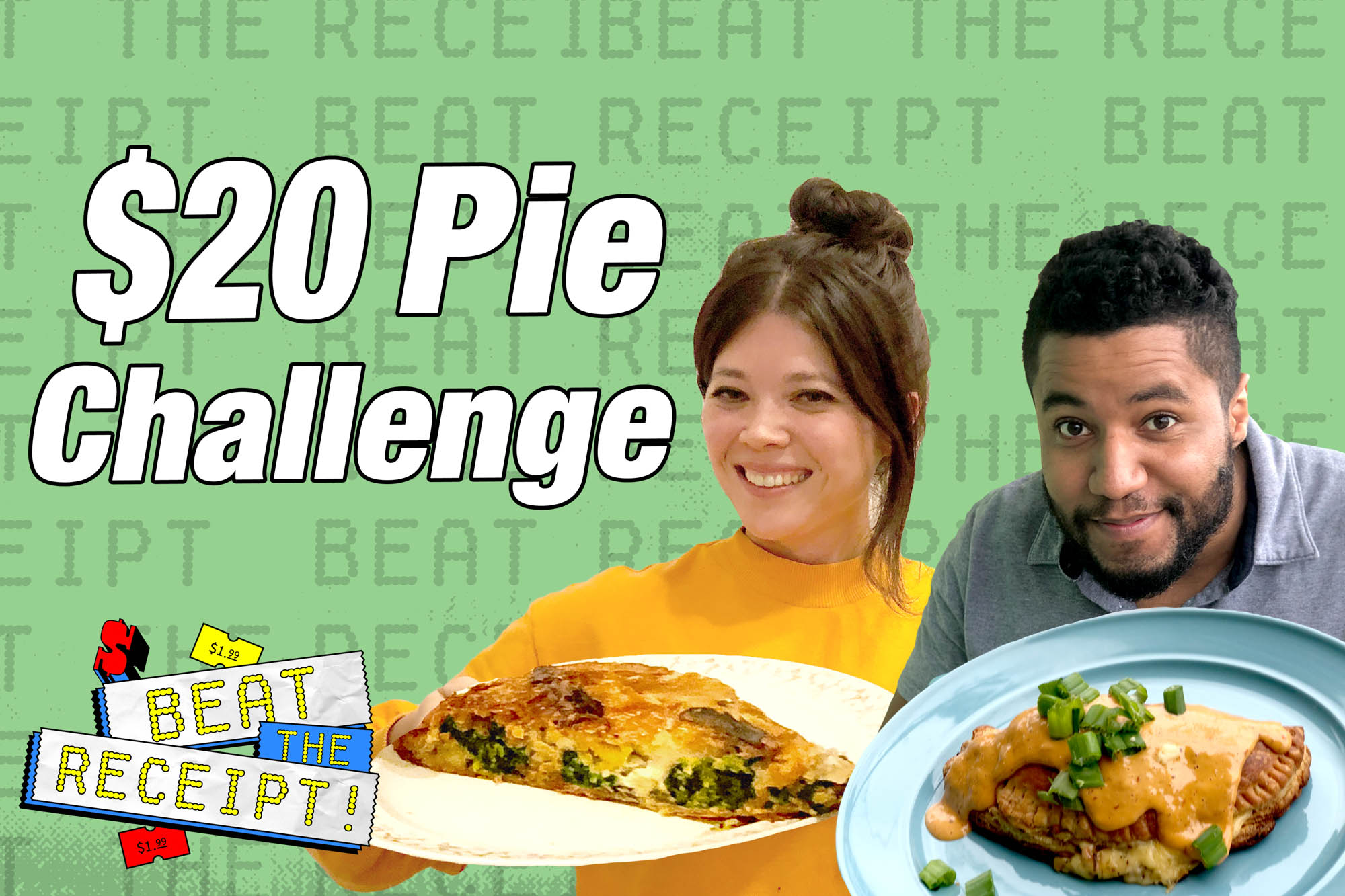 Beat the Receipt Pie Challenge