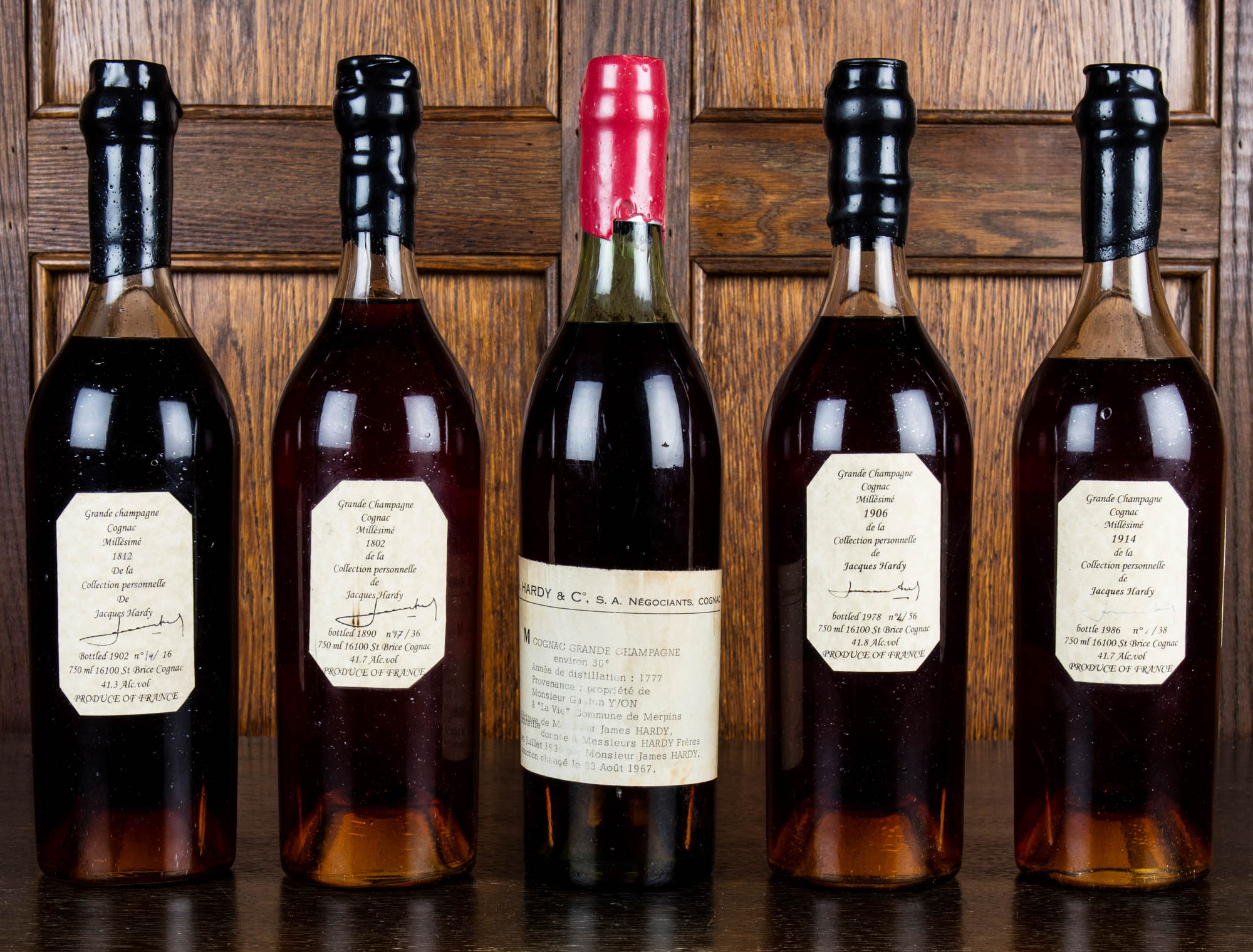Hardy Cognac Auction