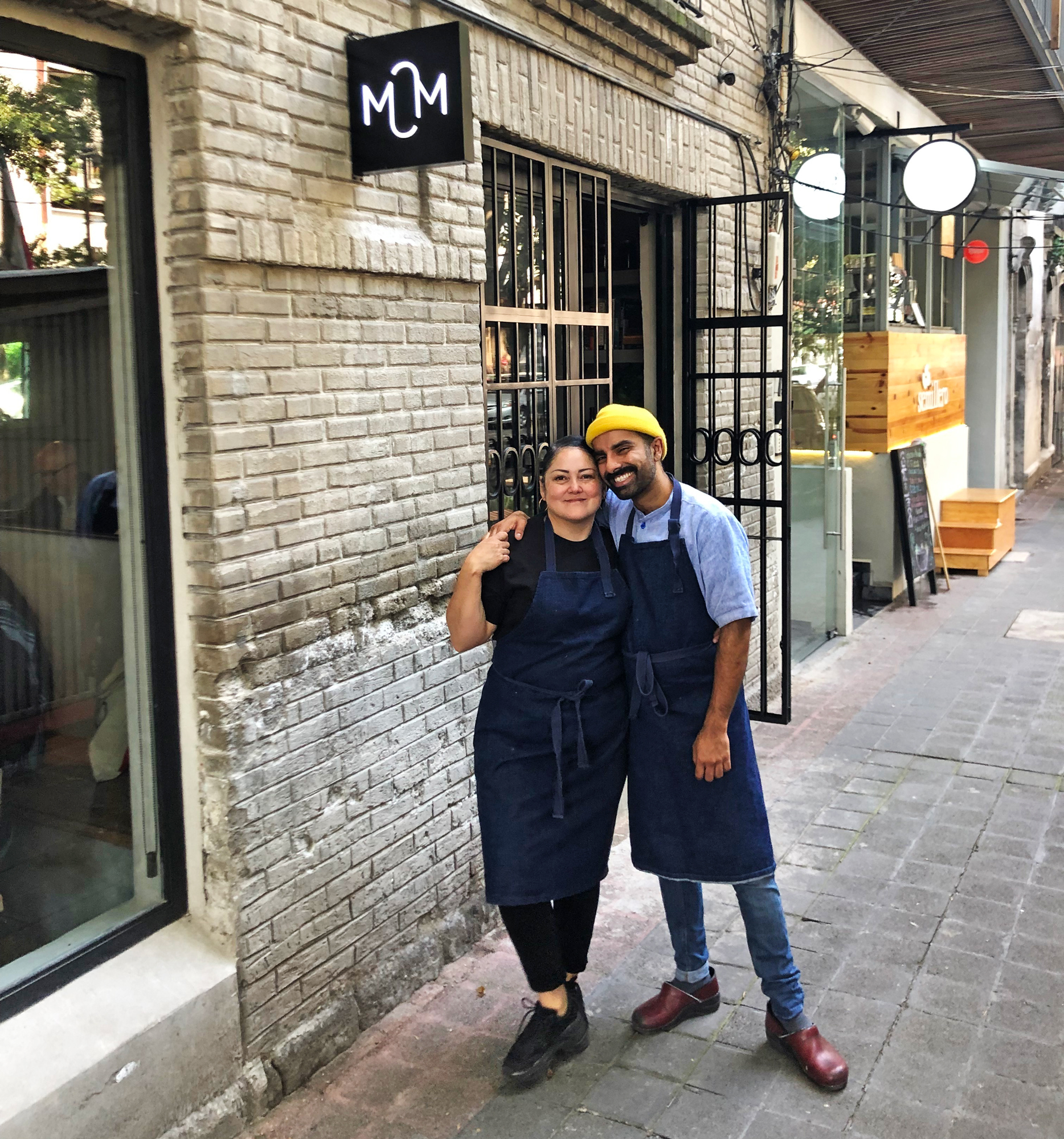 Chef Norma Listman and Chef Saqib Keval