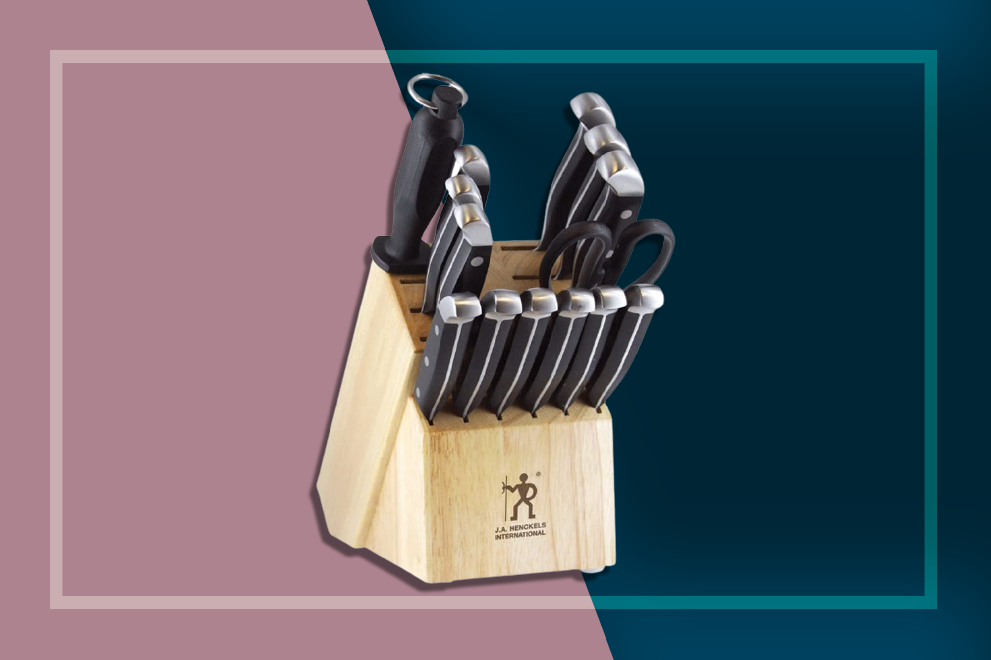 JA Henckels Knife Block